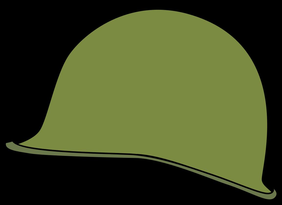 Clipart - WW2 American Helmet