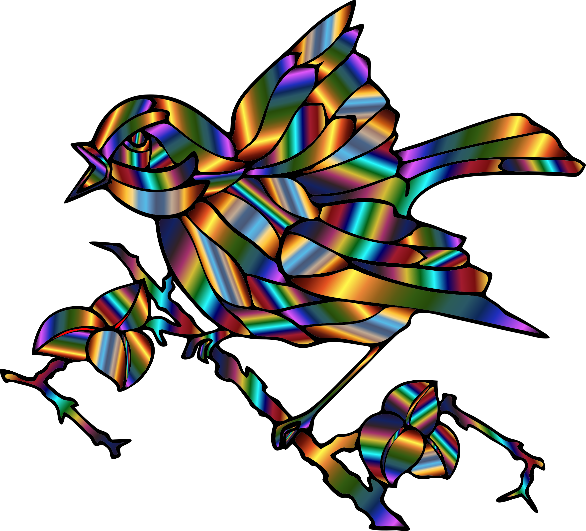 Prismatic Bird 2 by GDJ