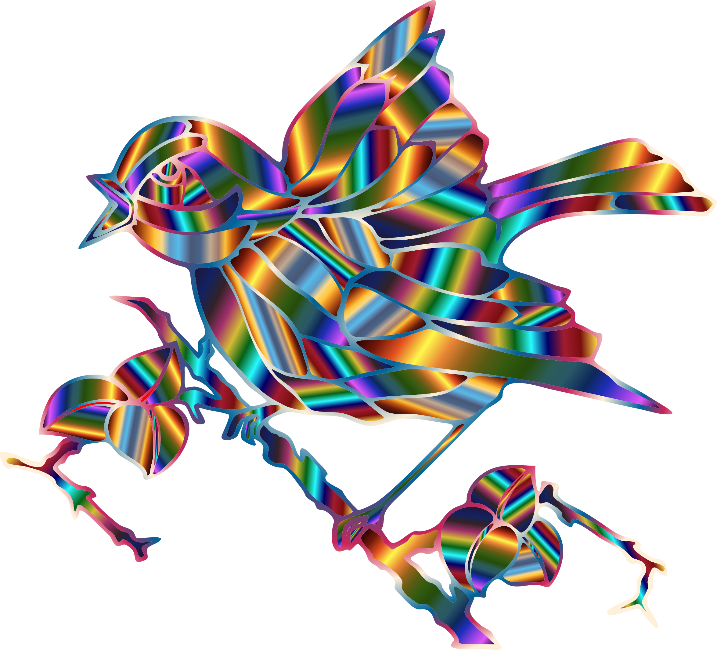 Prismatic Bird 3 by GDJ