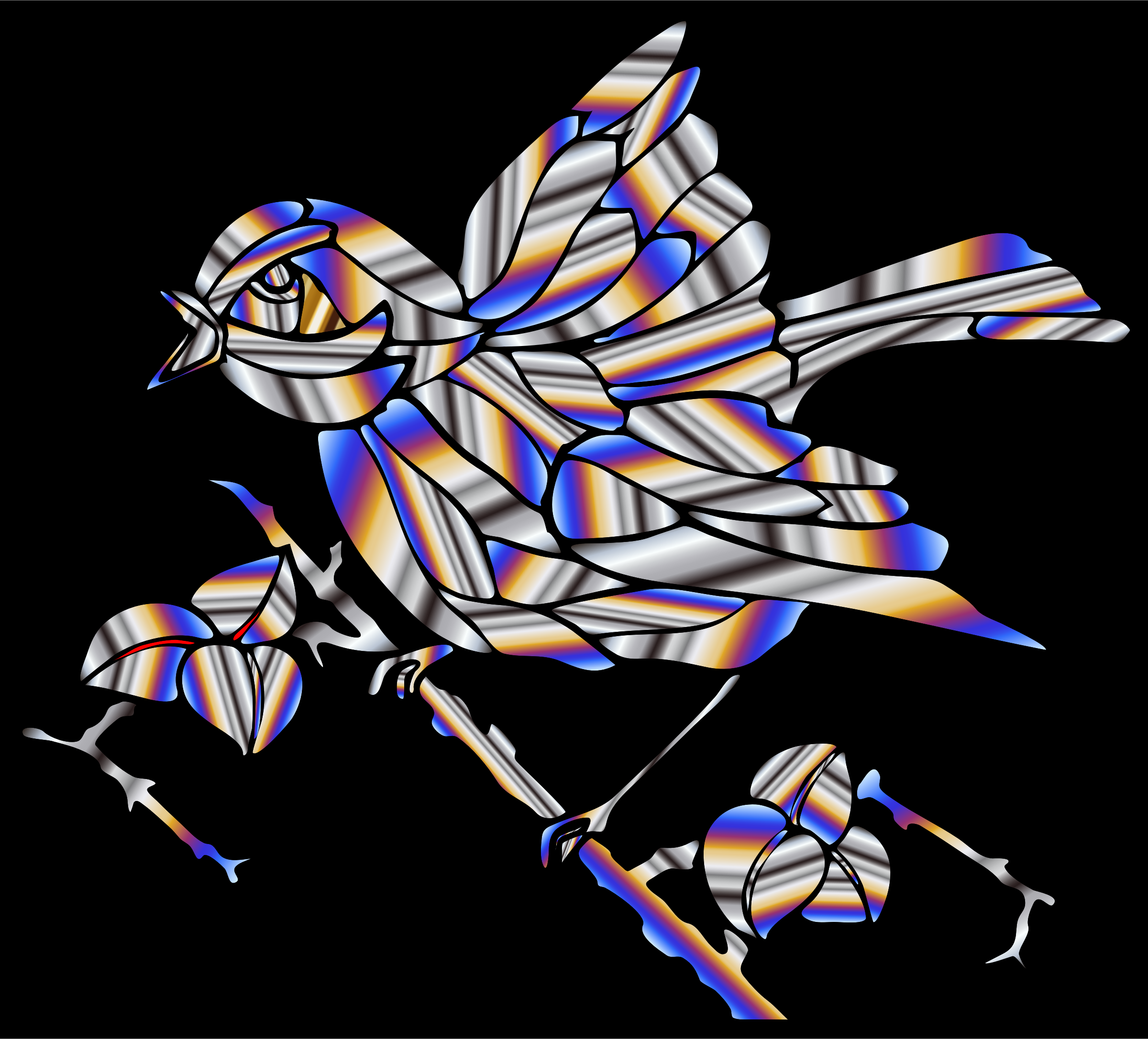 Prismatic Bird 5 by GDJ