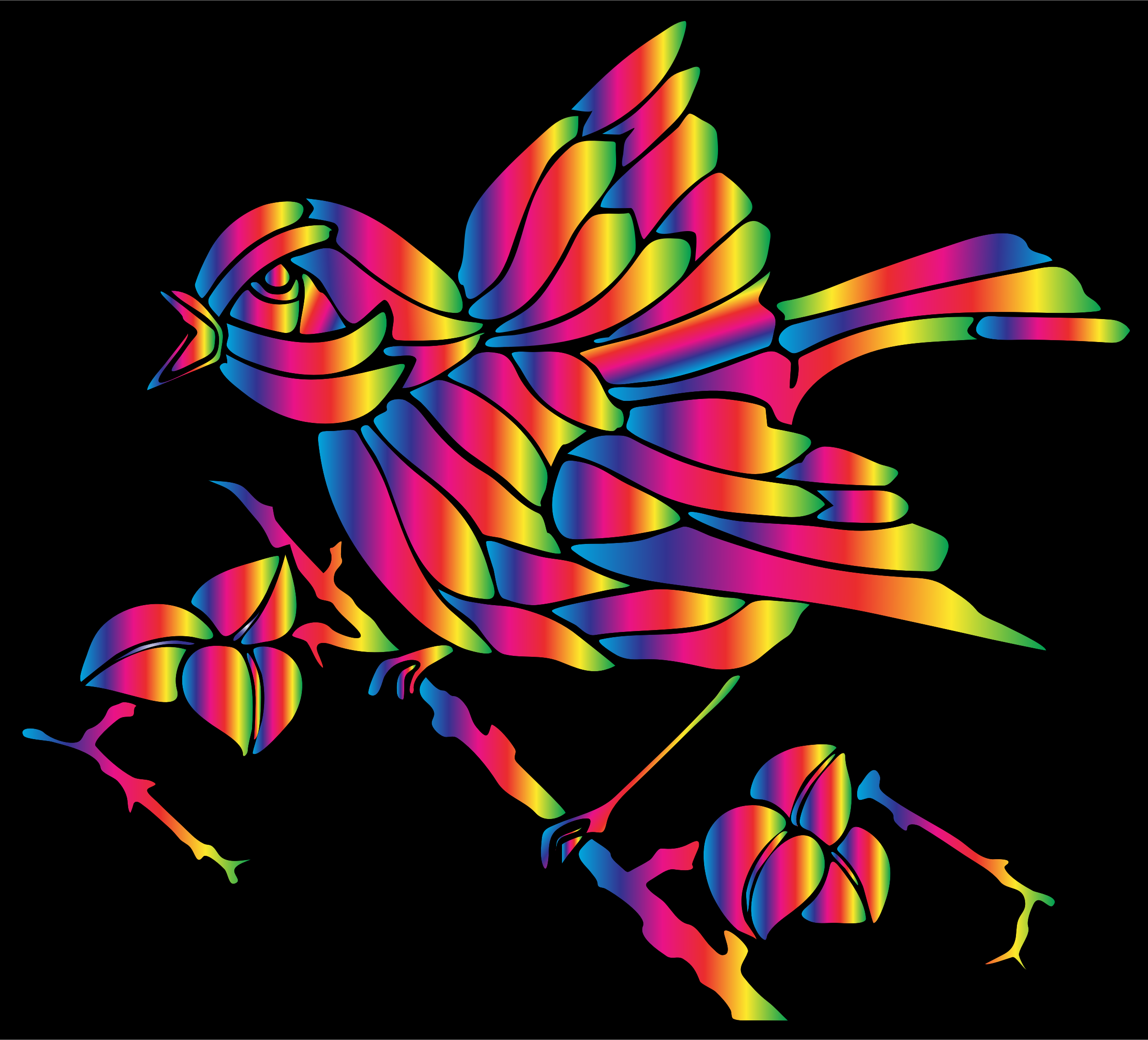 Prismatic Bird 8 by GDJ