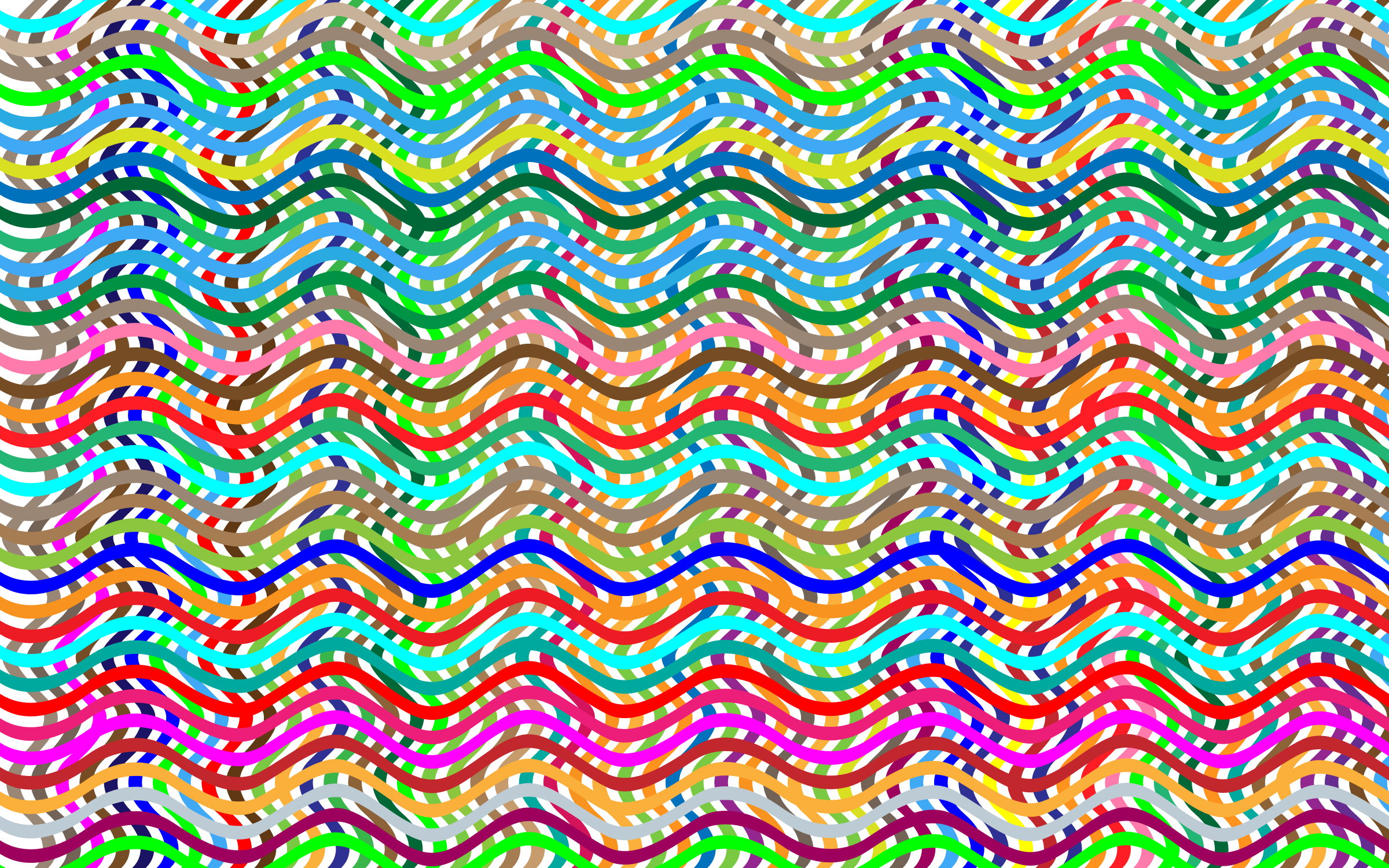 Wavy Lines Background by GDJ