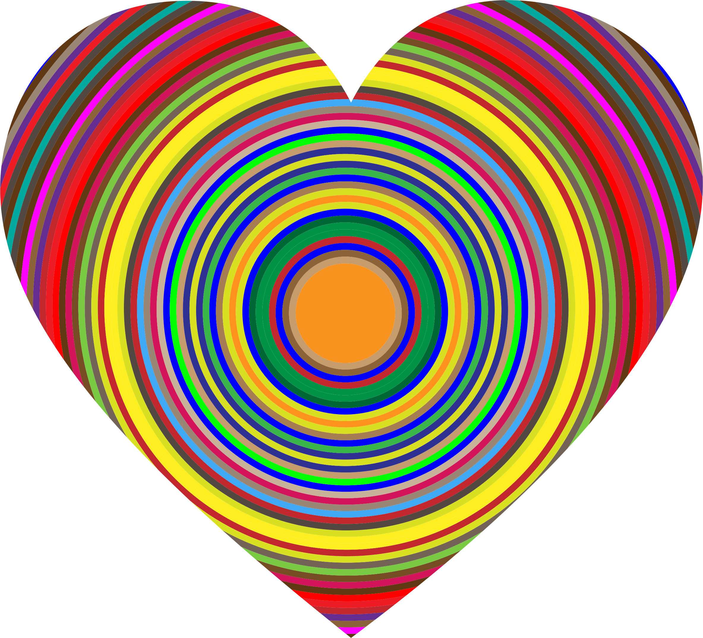 Concentric Heart by GDJ