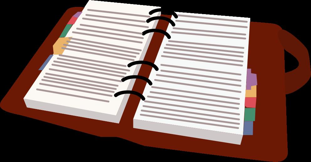 Daily Calendar Clipart : Clipart day planner