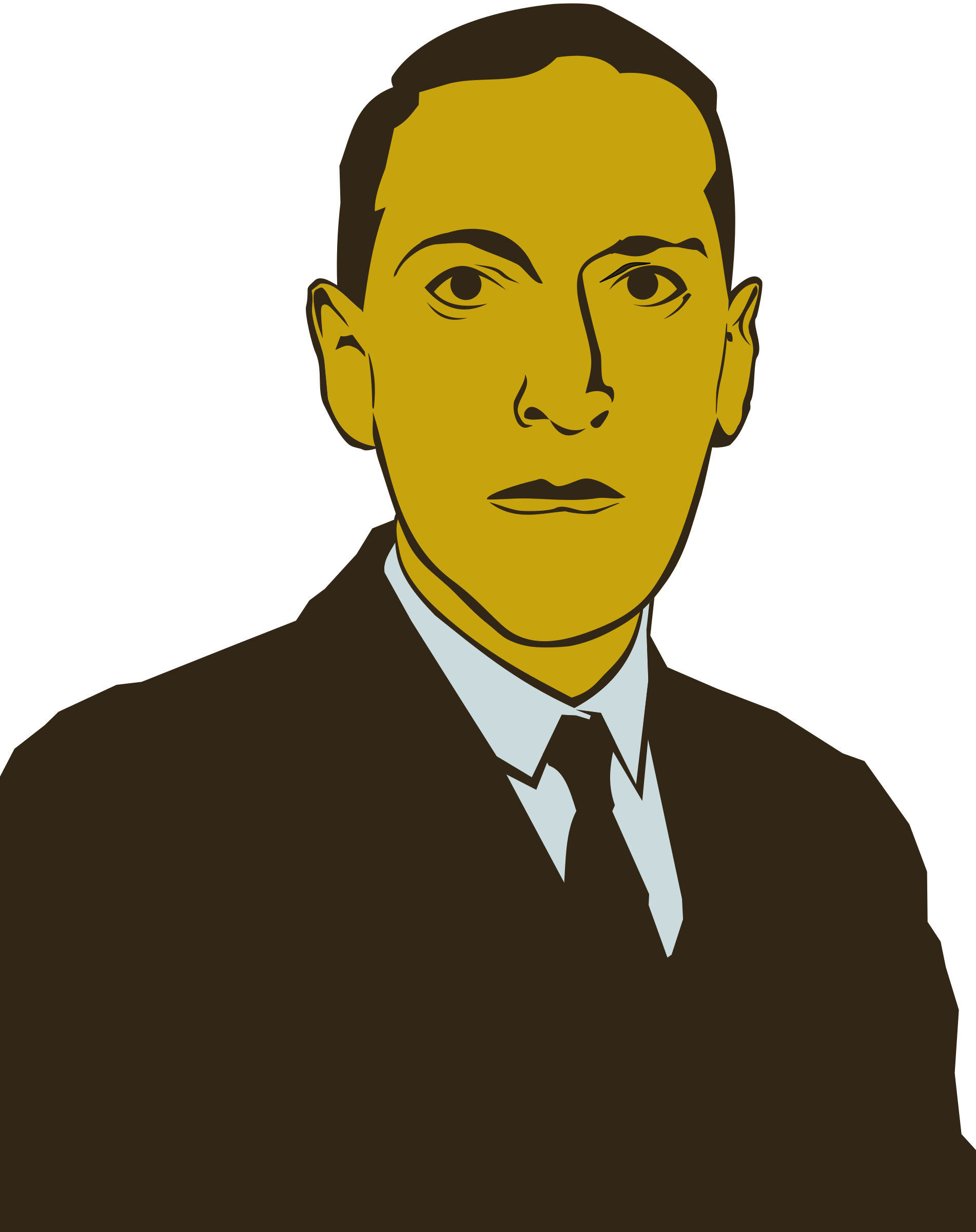 H. P. Lovecraft by conte magnus