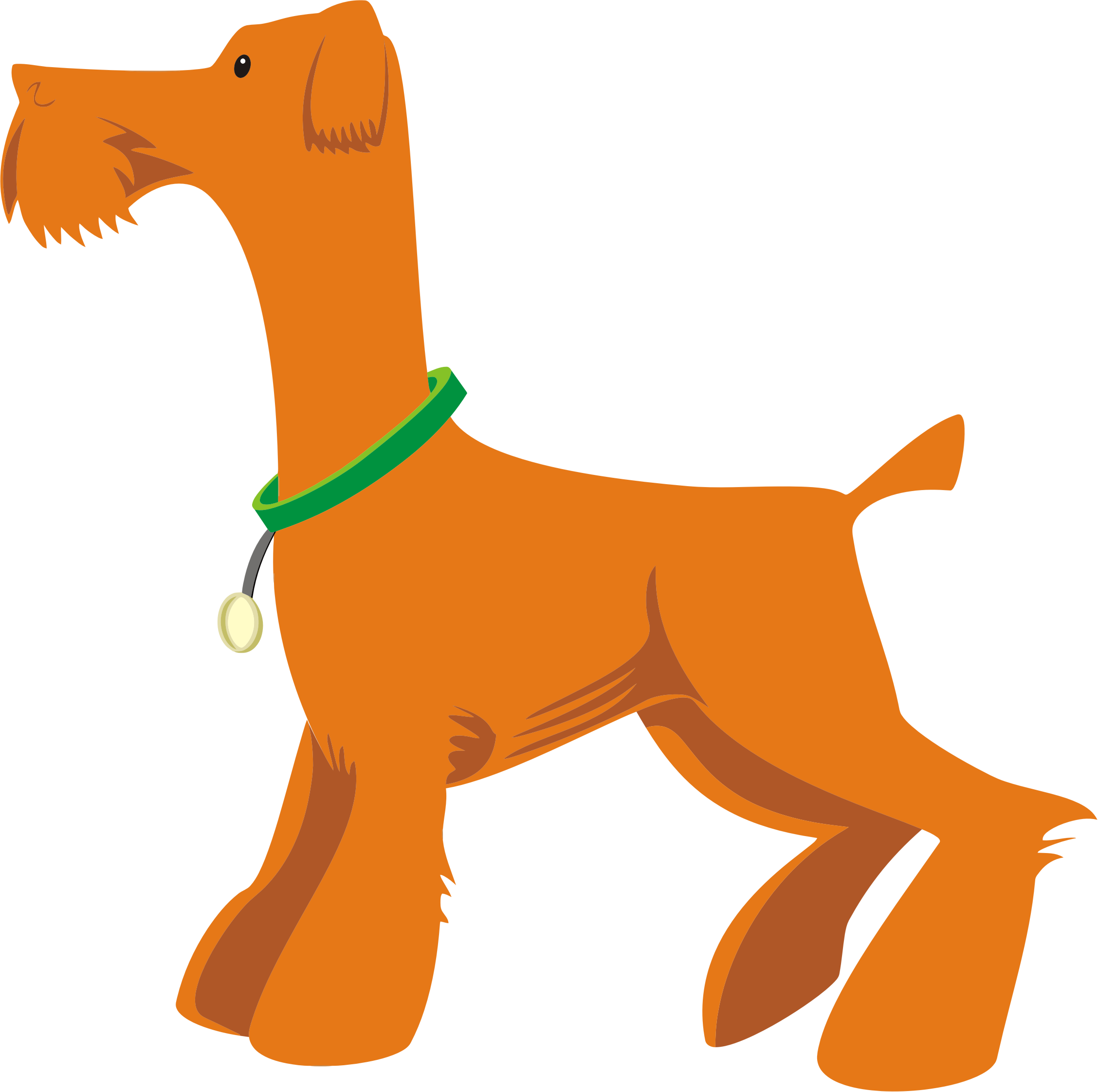 Orange Dog Profile by GDJ
