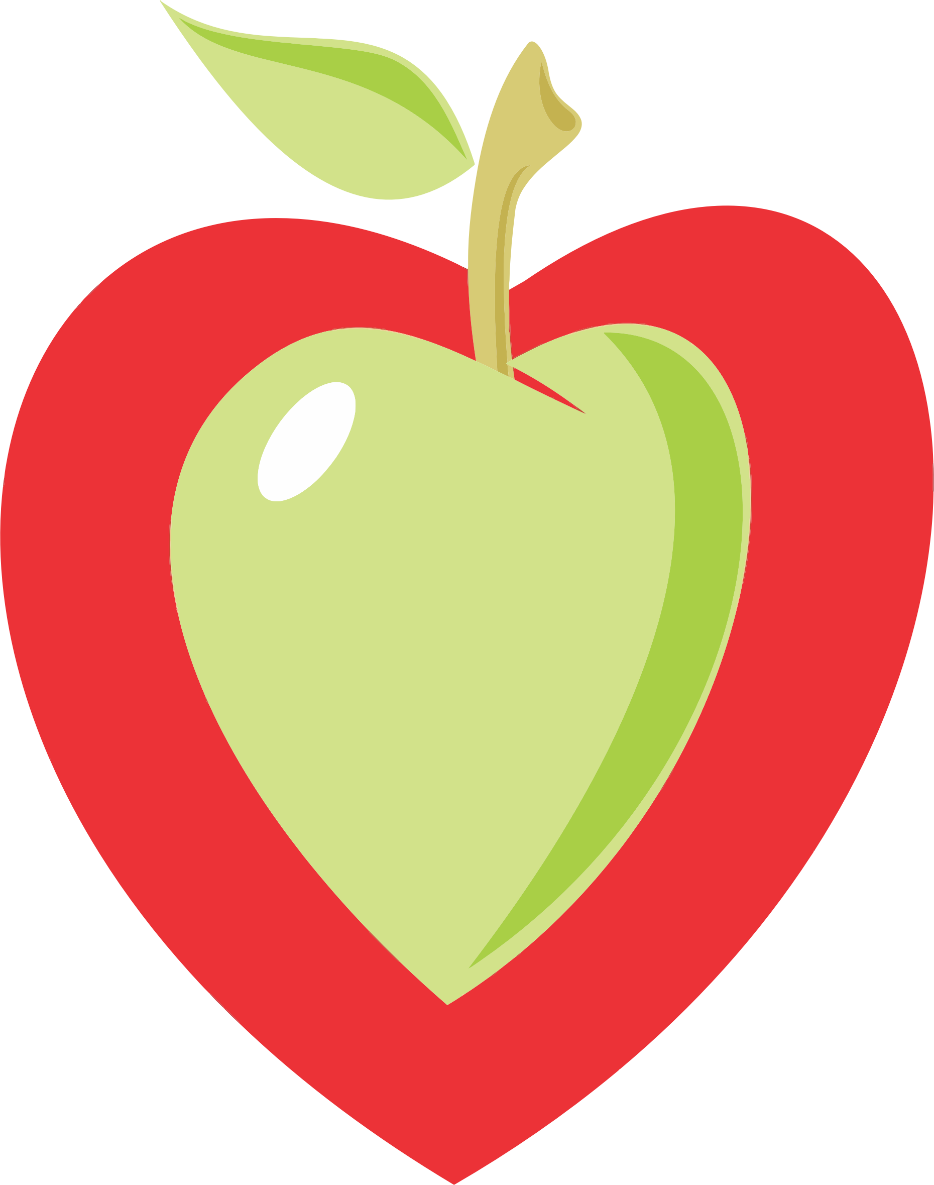 Heart Apple by GDJ