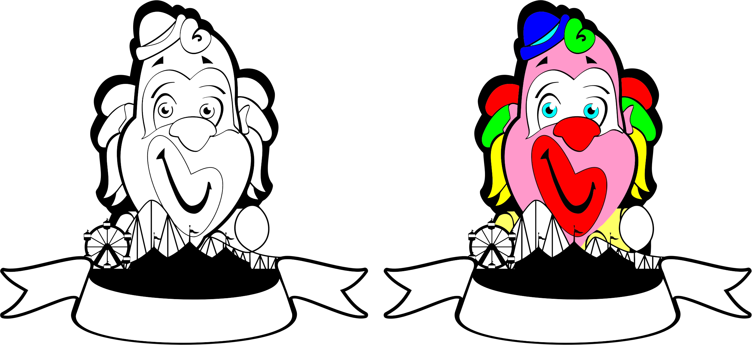 Clowns Banners by GDJ