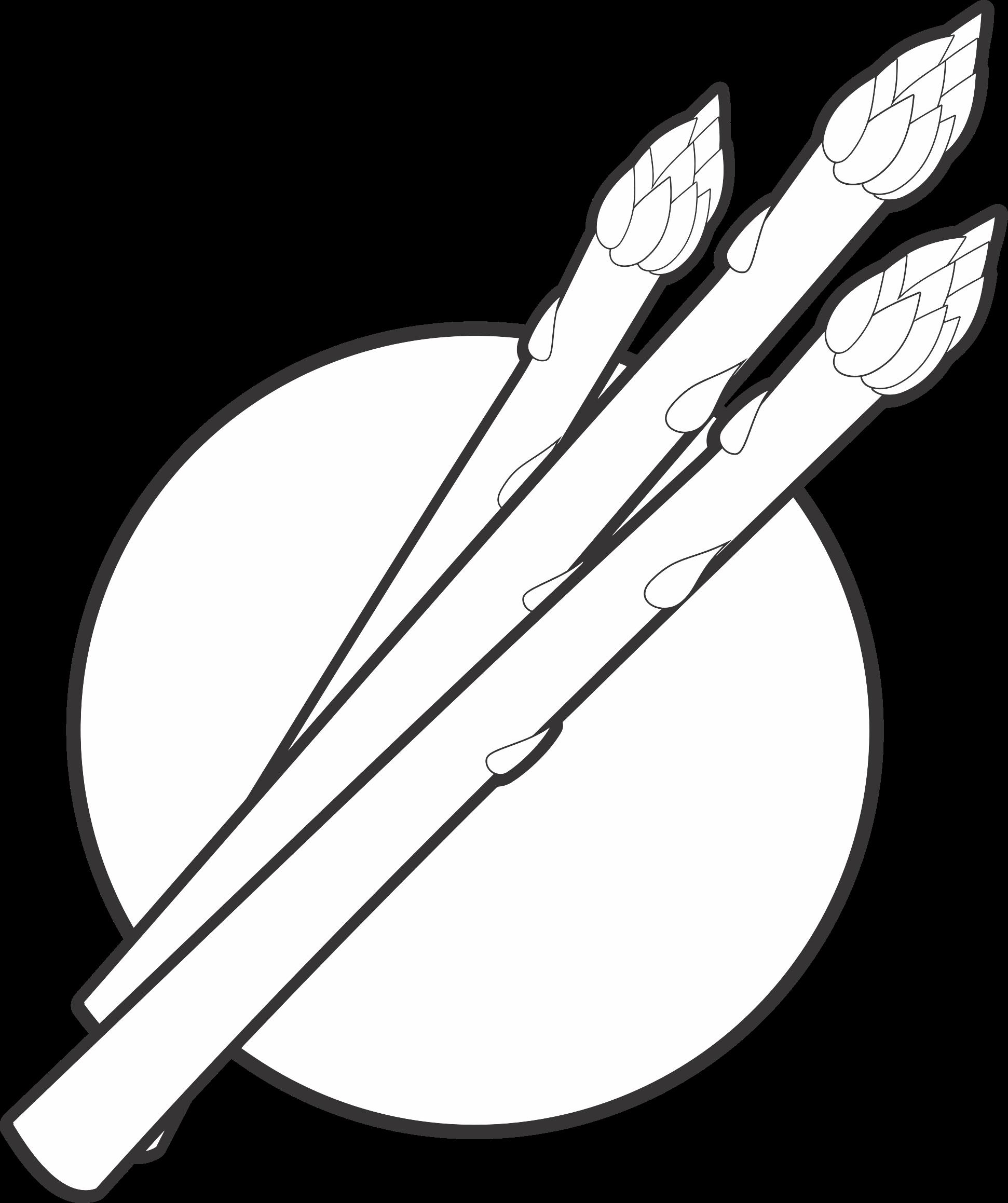 Line Art Vector Design Png : Clipart asparagus line art logo