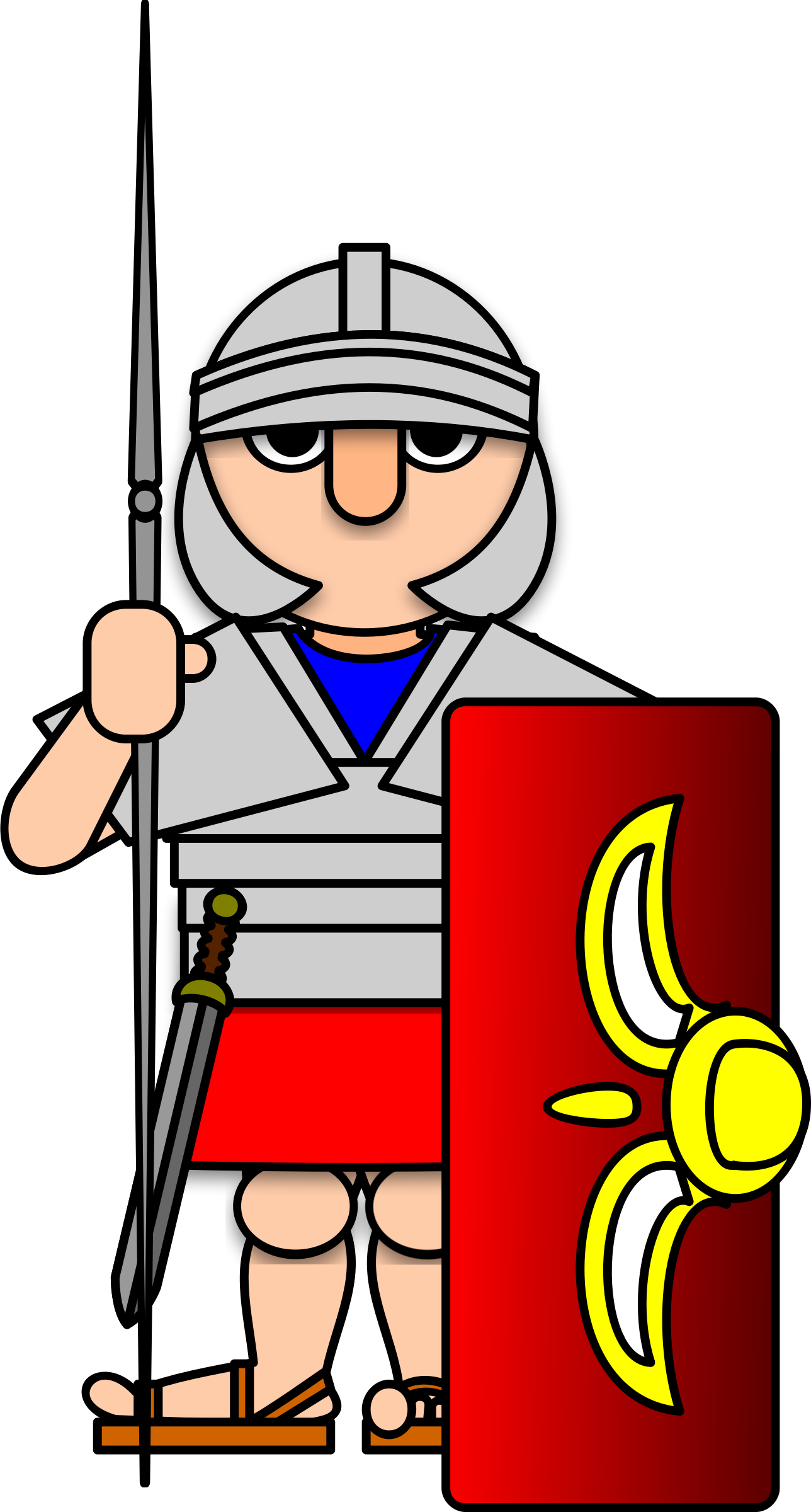 Roman Soldier by Bibbleycheese