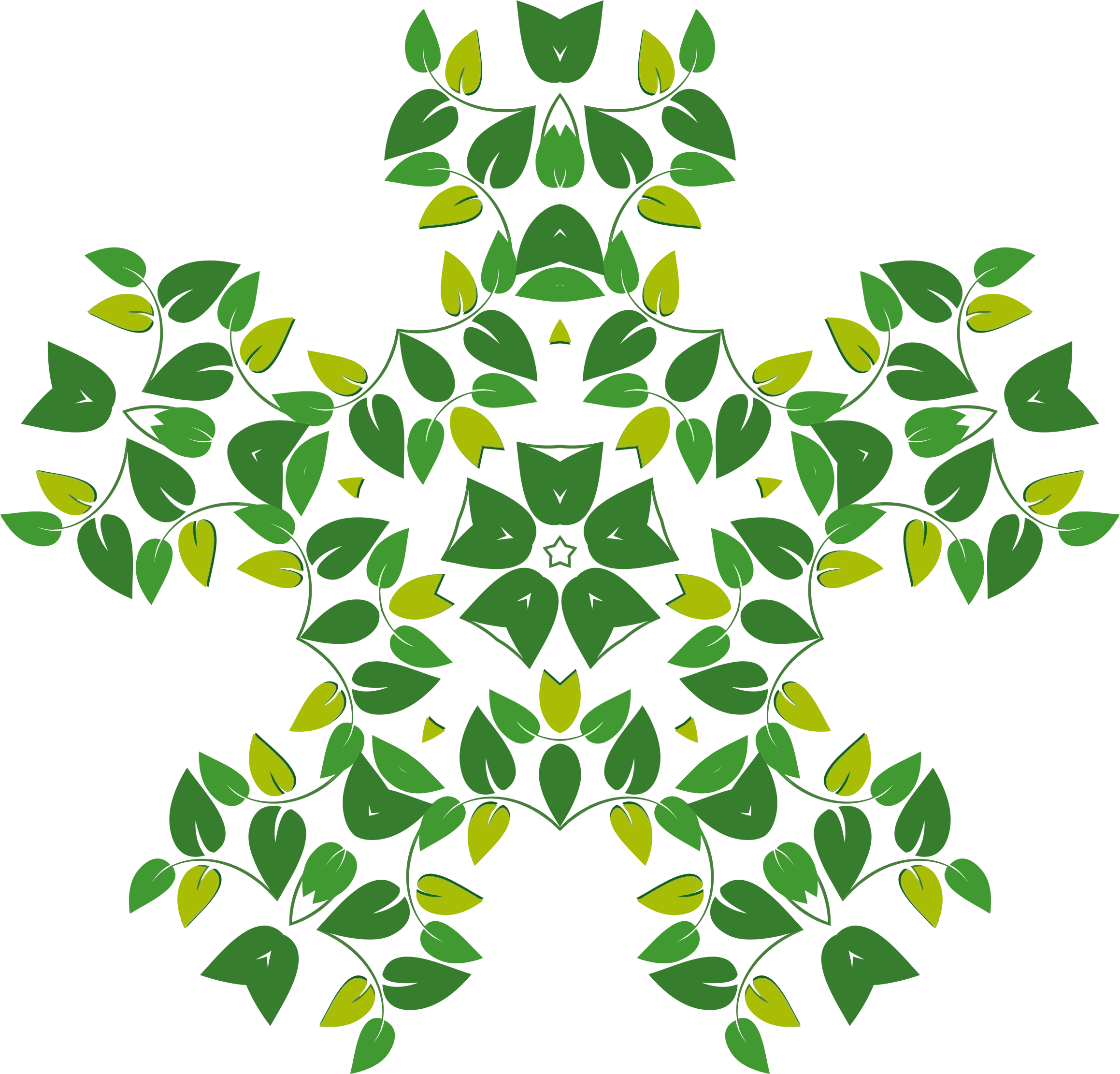 Leafy Design 2 by GDJ