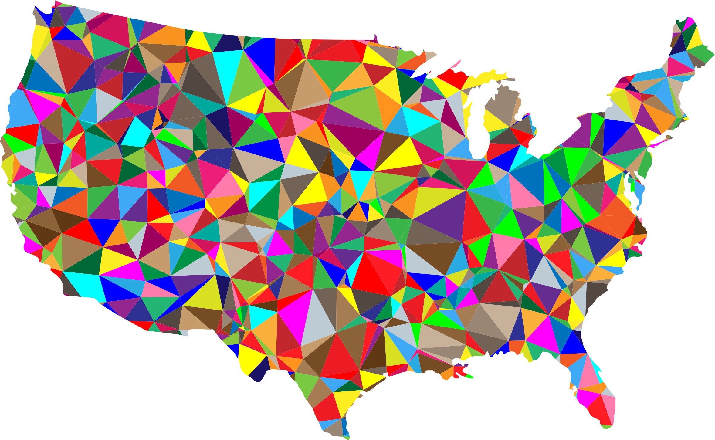 small map of usa with states with Flat Color Low Poly America Usa Map on Henry Cavill additionally Seniors Return To California moreover Detailed Tourist Map Of New Jersey State besides 7233146696 additionally Prismatic Us Map Outline Zoom 2.