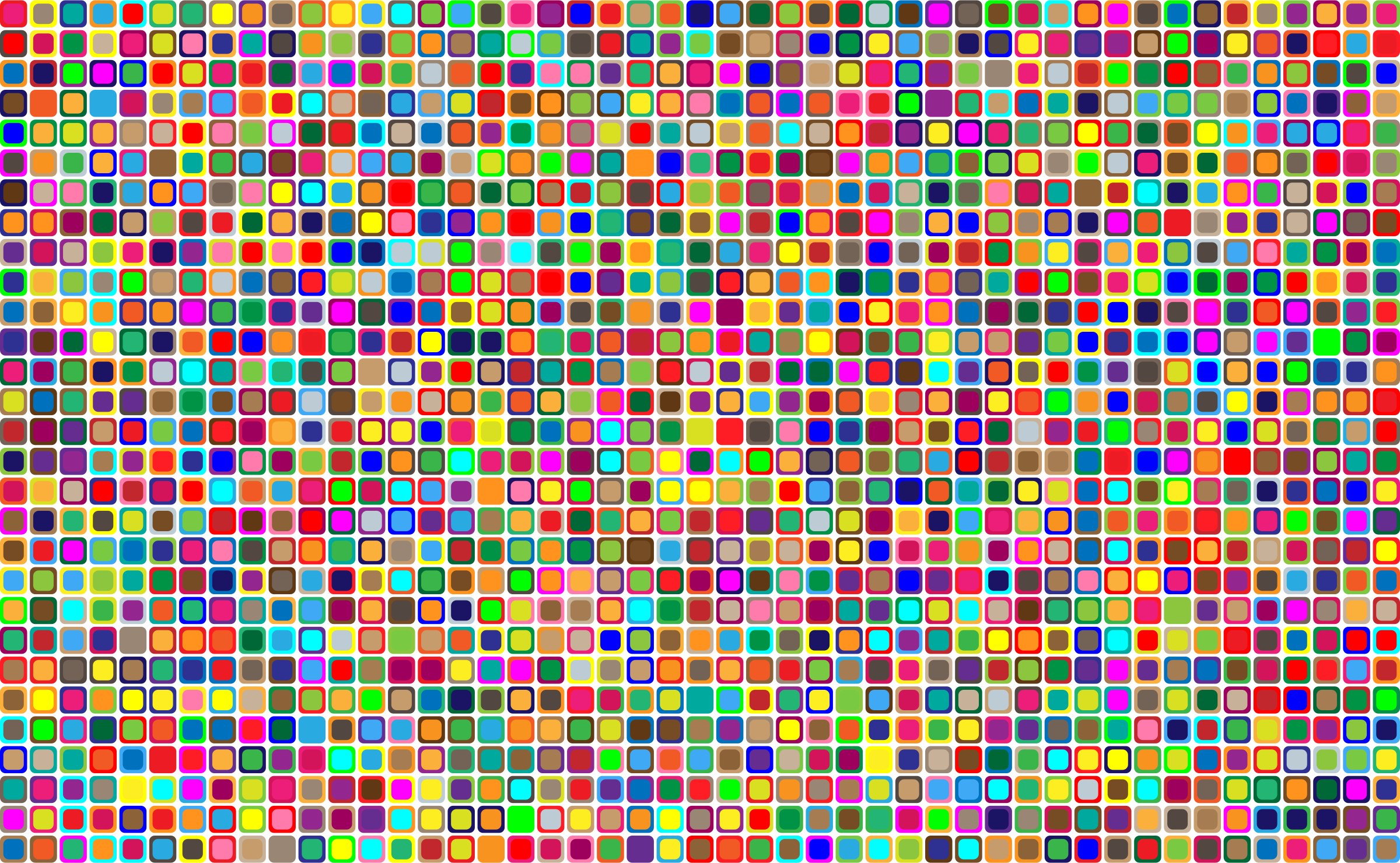 Colorful Squares Background by GDJ