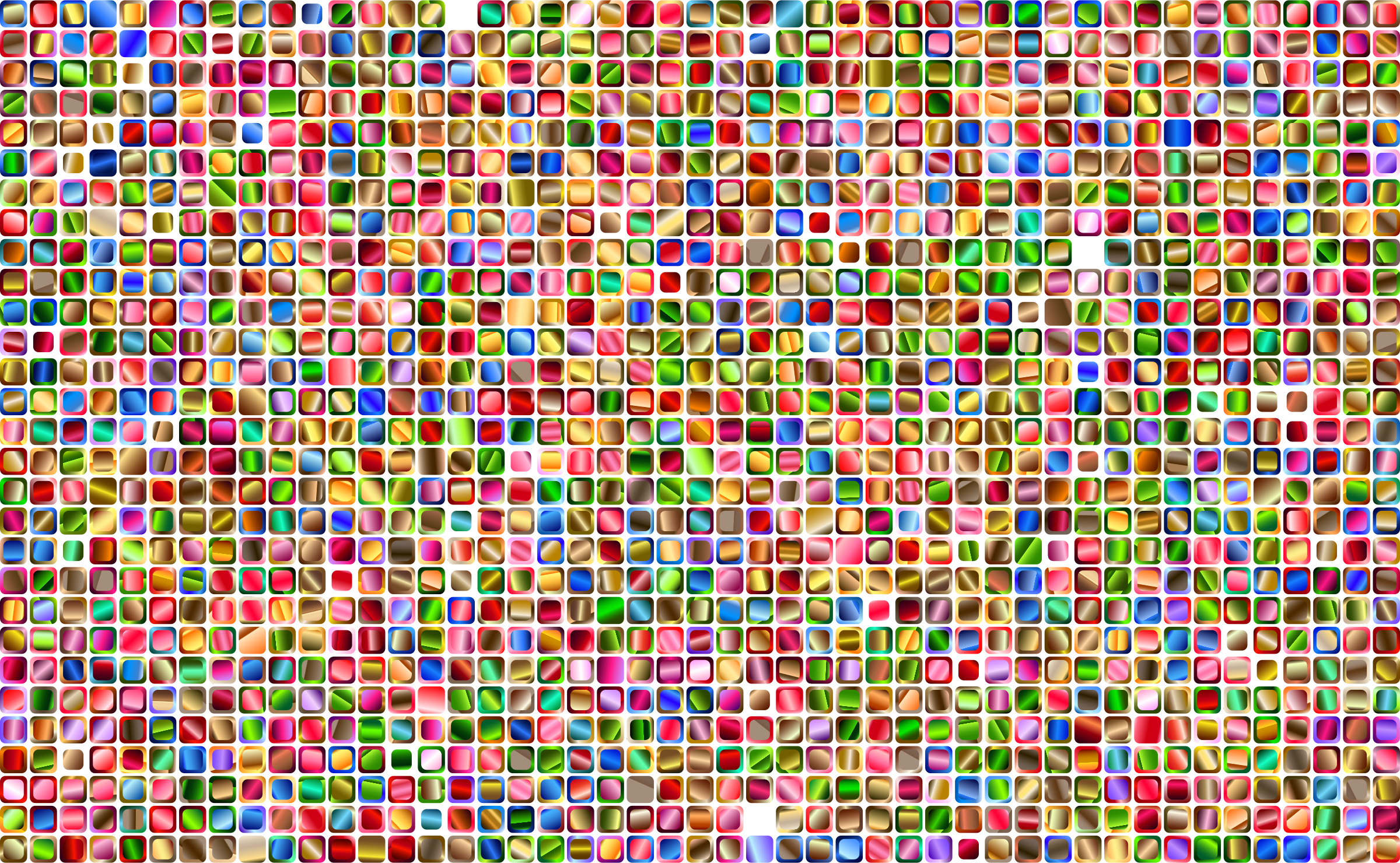 Colorful Squares Background 2 Variation 2 by GDJ