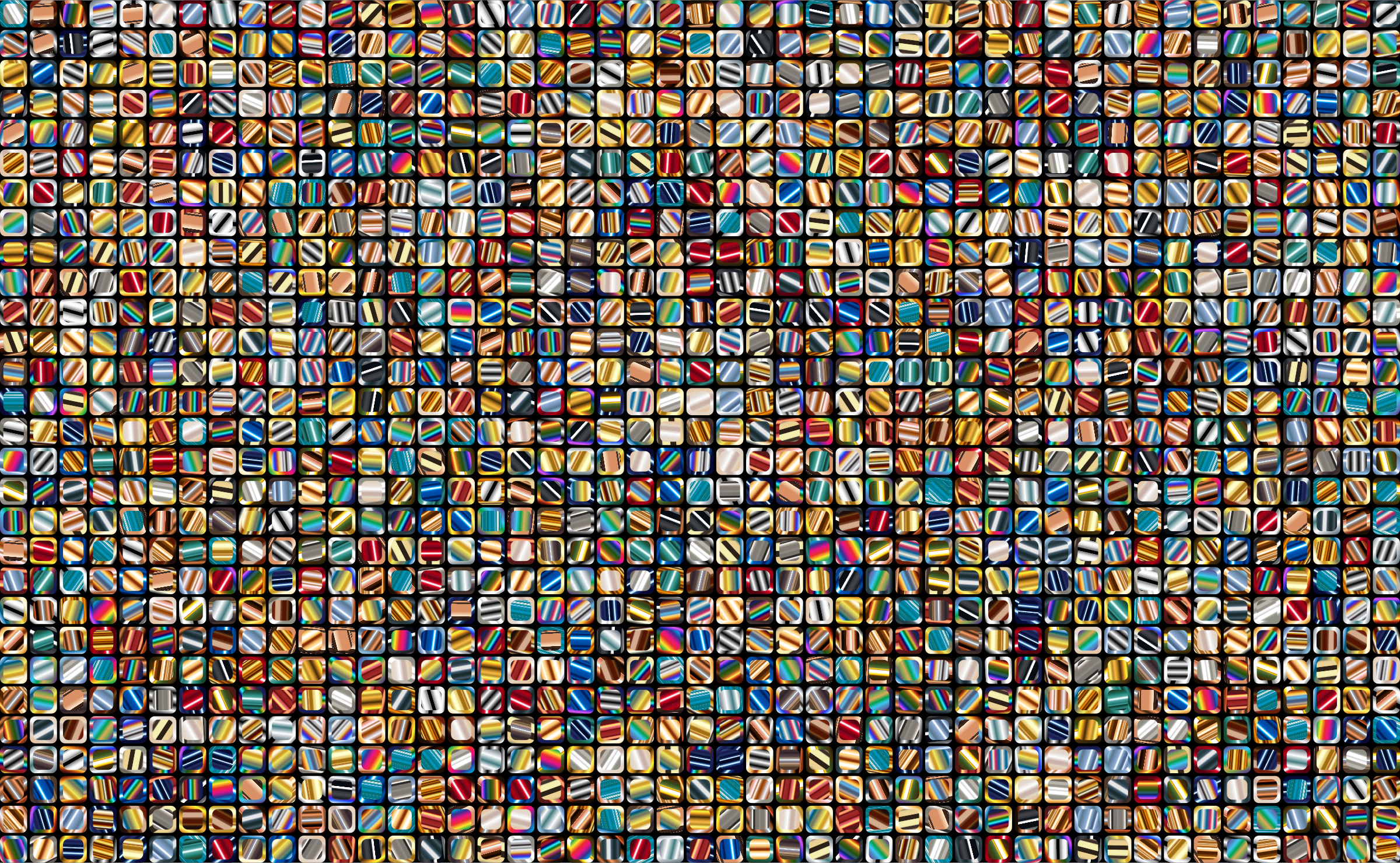 Colorful Squares Background 4 by GDJ