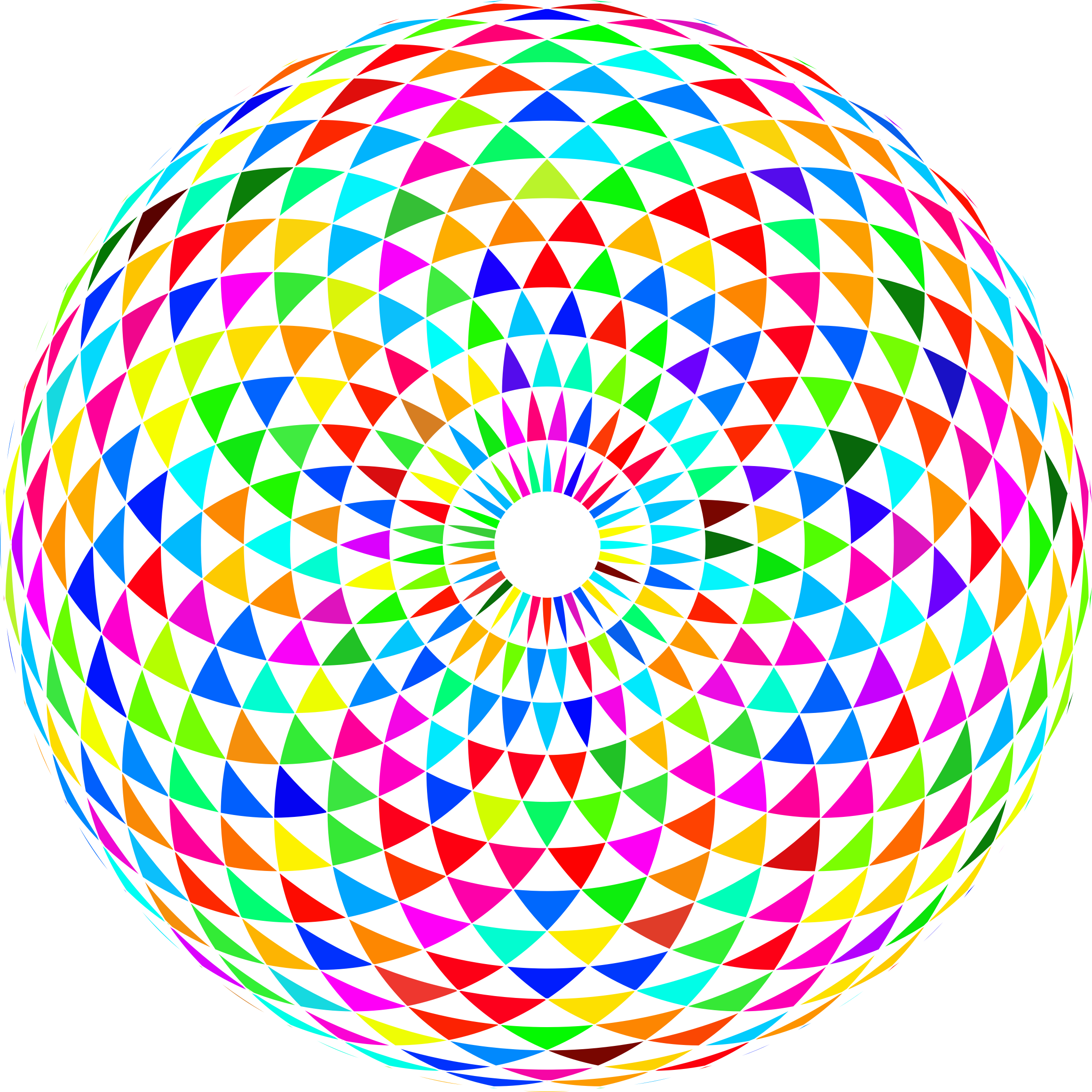 Colorful Toroid Mandala 2 by GDJ