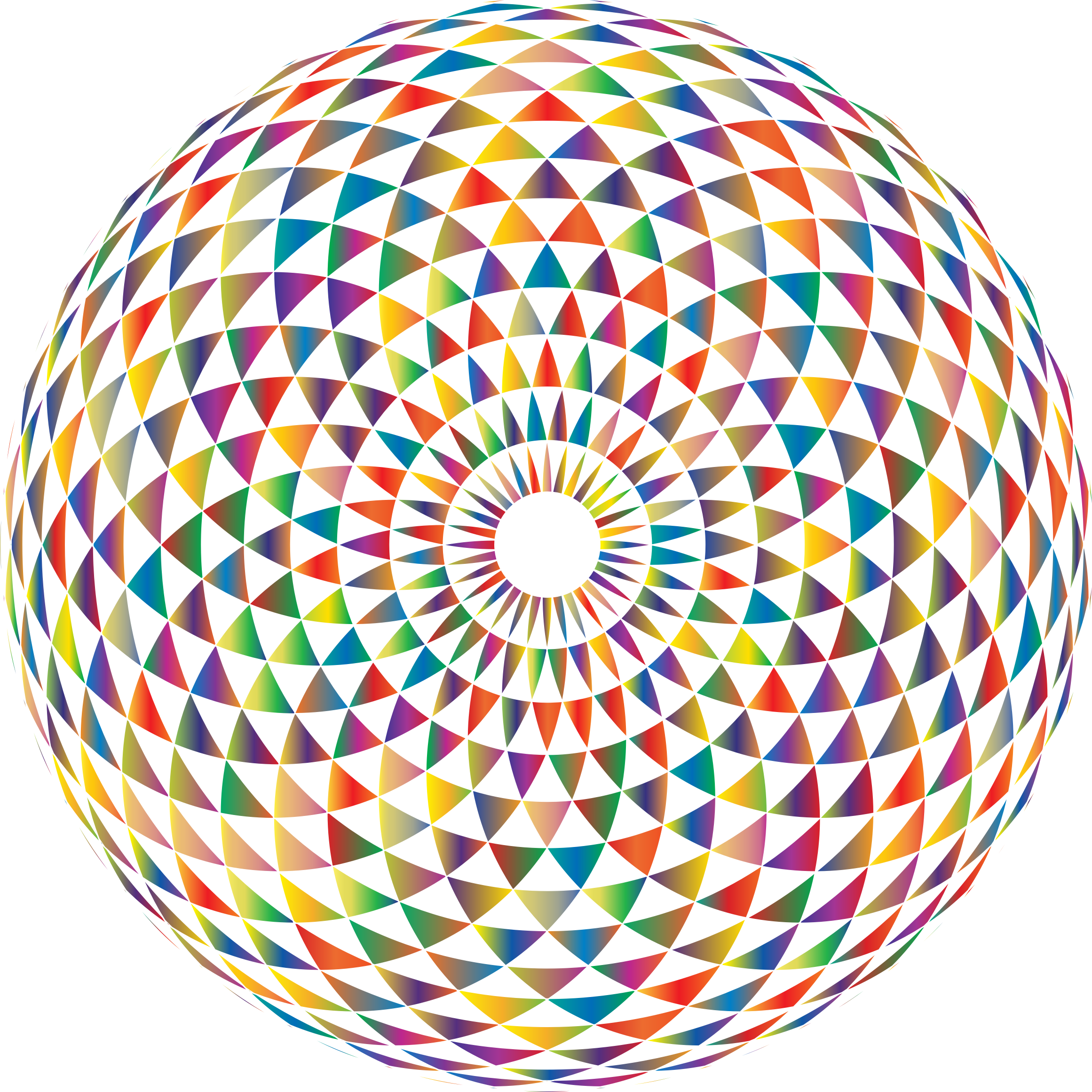 Colorful Toroid Mandala 4 by GDJ