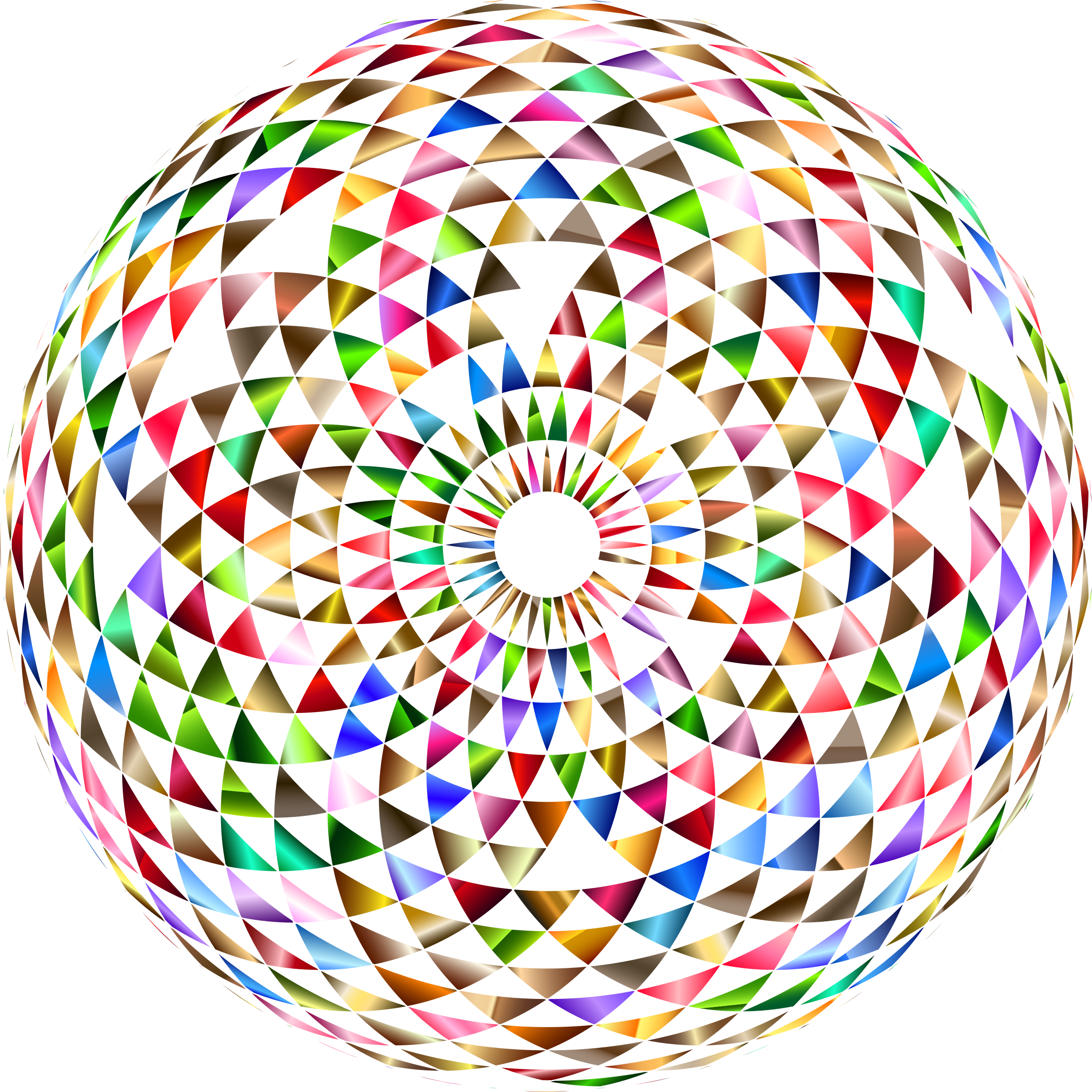 Colorful Toroid Mandala 5 by GDJ