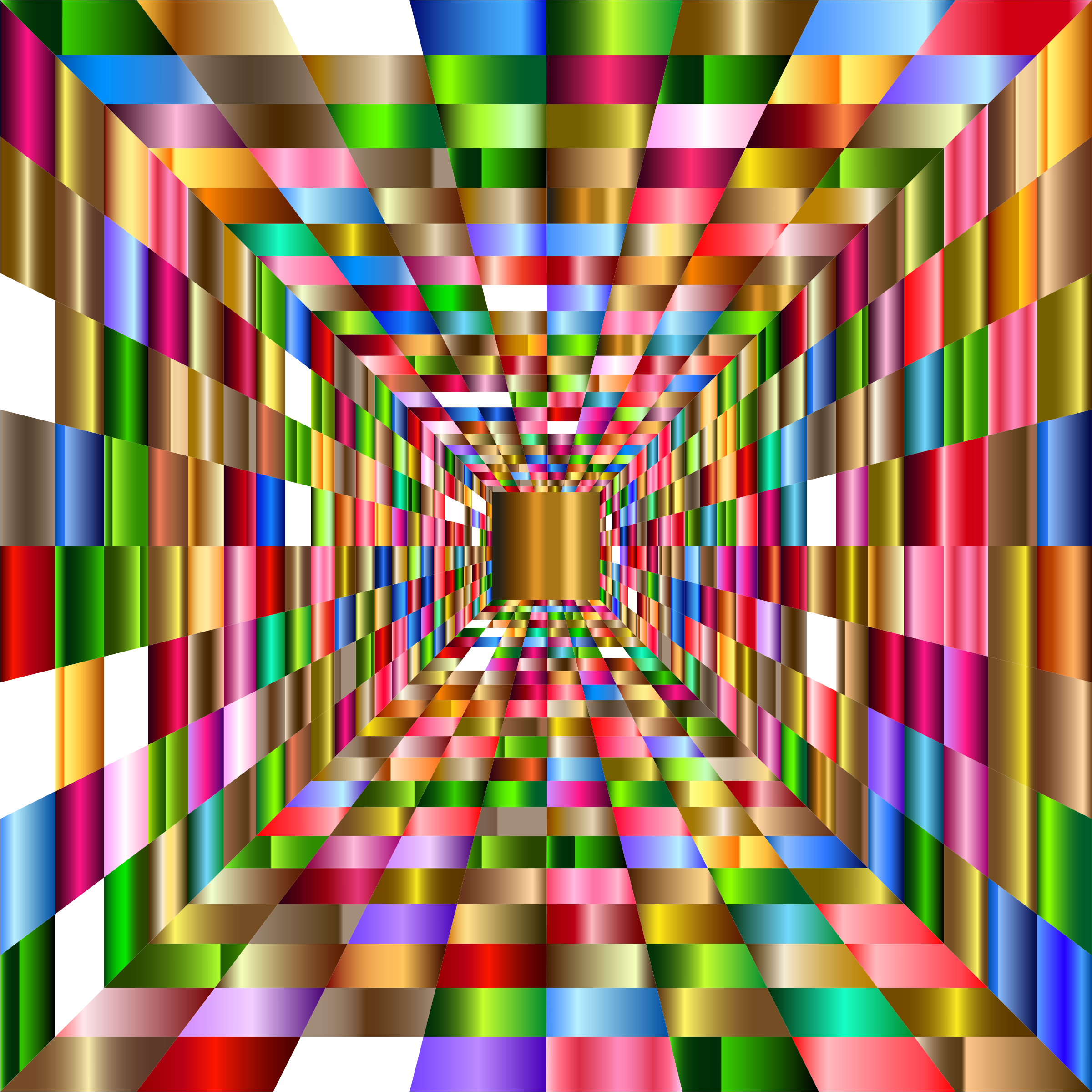 Colorful Perspective Grid 4 by GDJ