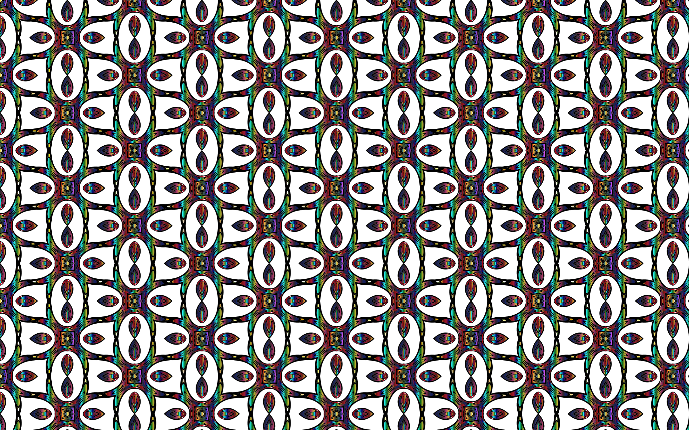 Prismatic Iridescence Seamless Pattern 2 by GDJ