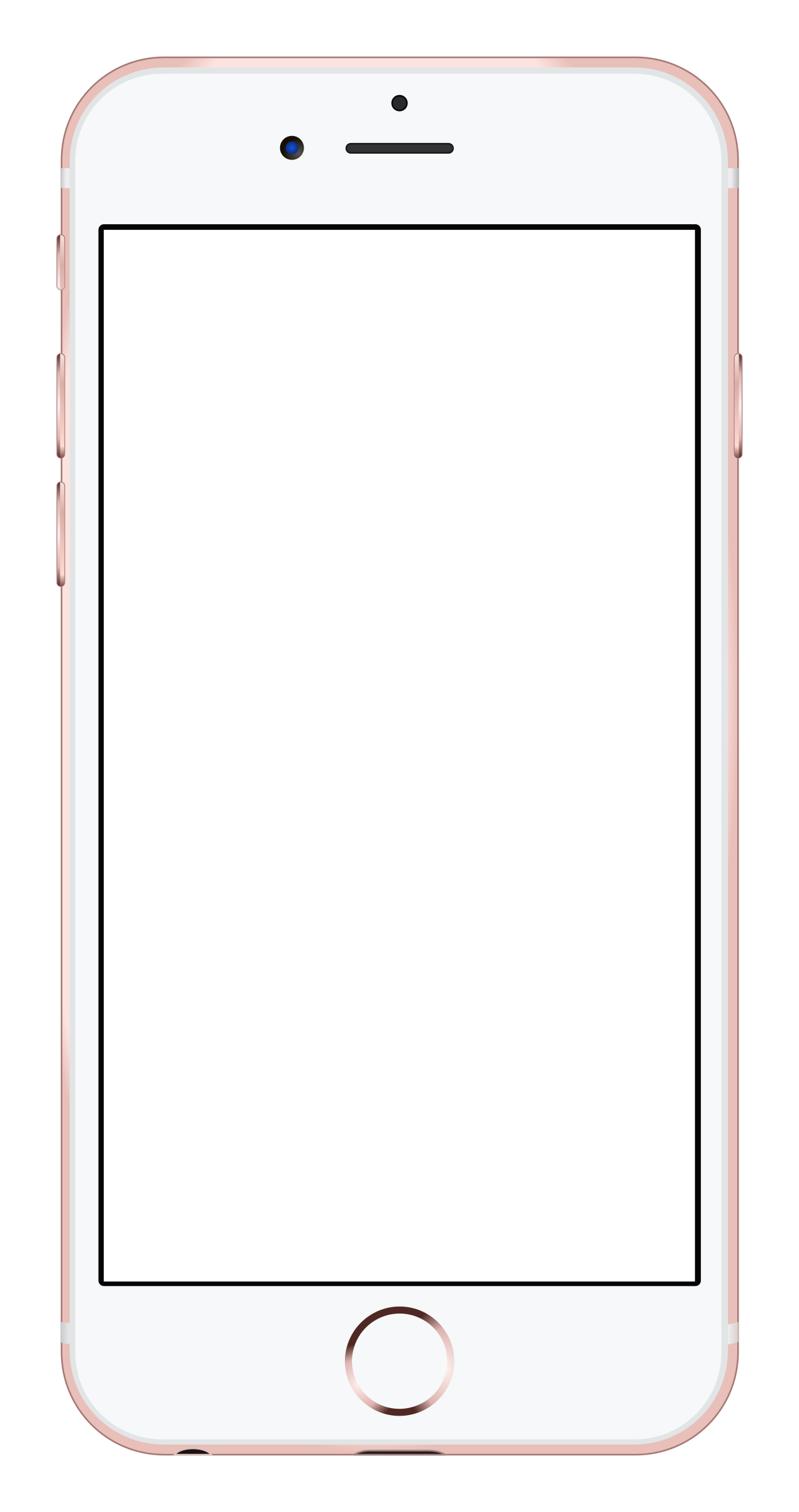 Clipart - iPhone 6s Rose Gold