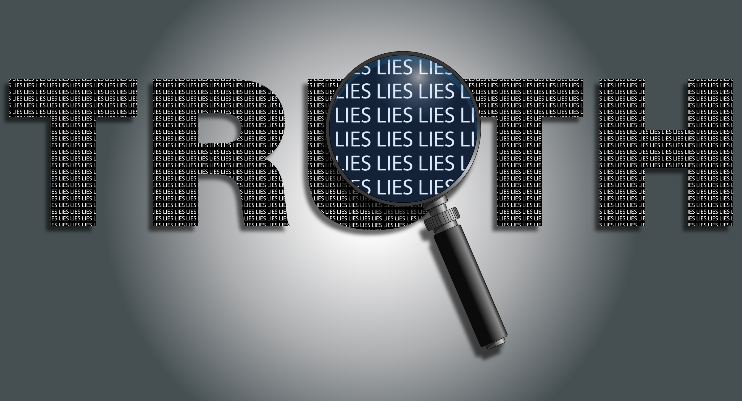 Truth Is Full Of Lies With Background by GDJ