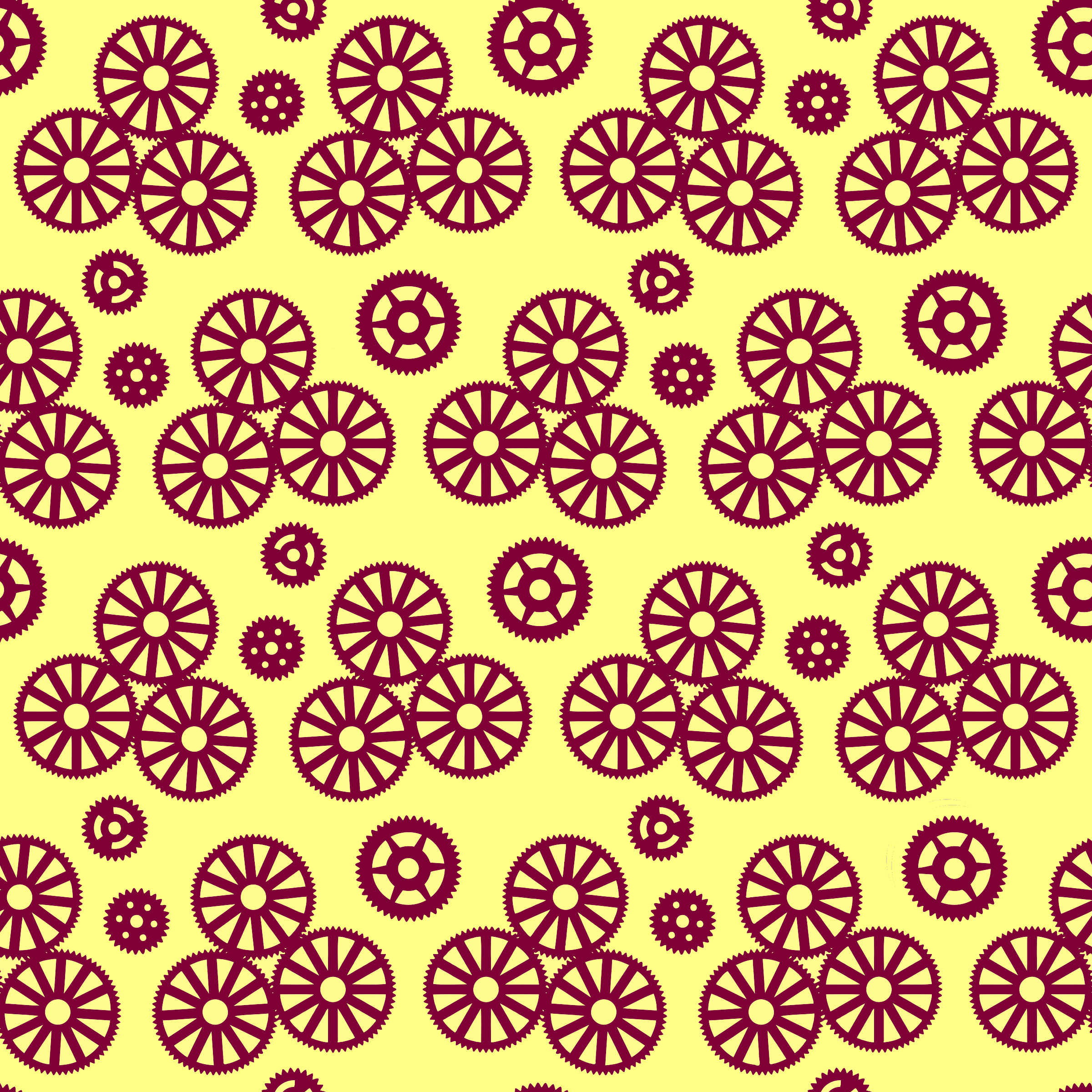 Gears pattern 3 by Firkin
