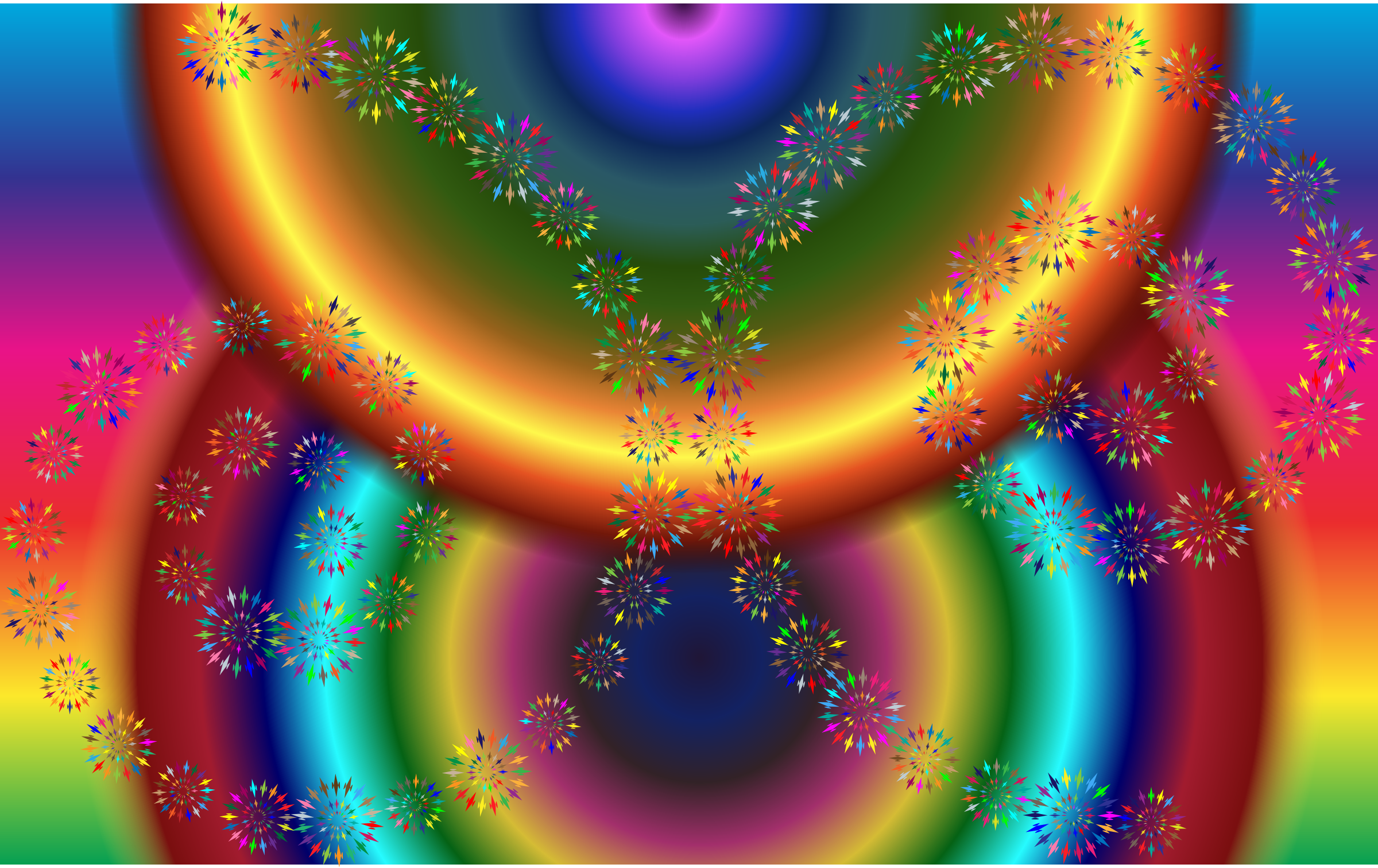 Geometric Spiral Art Variation 2 by GDJ