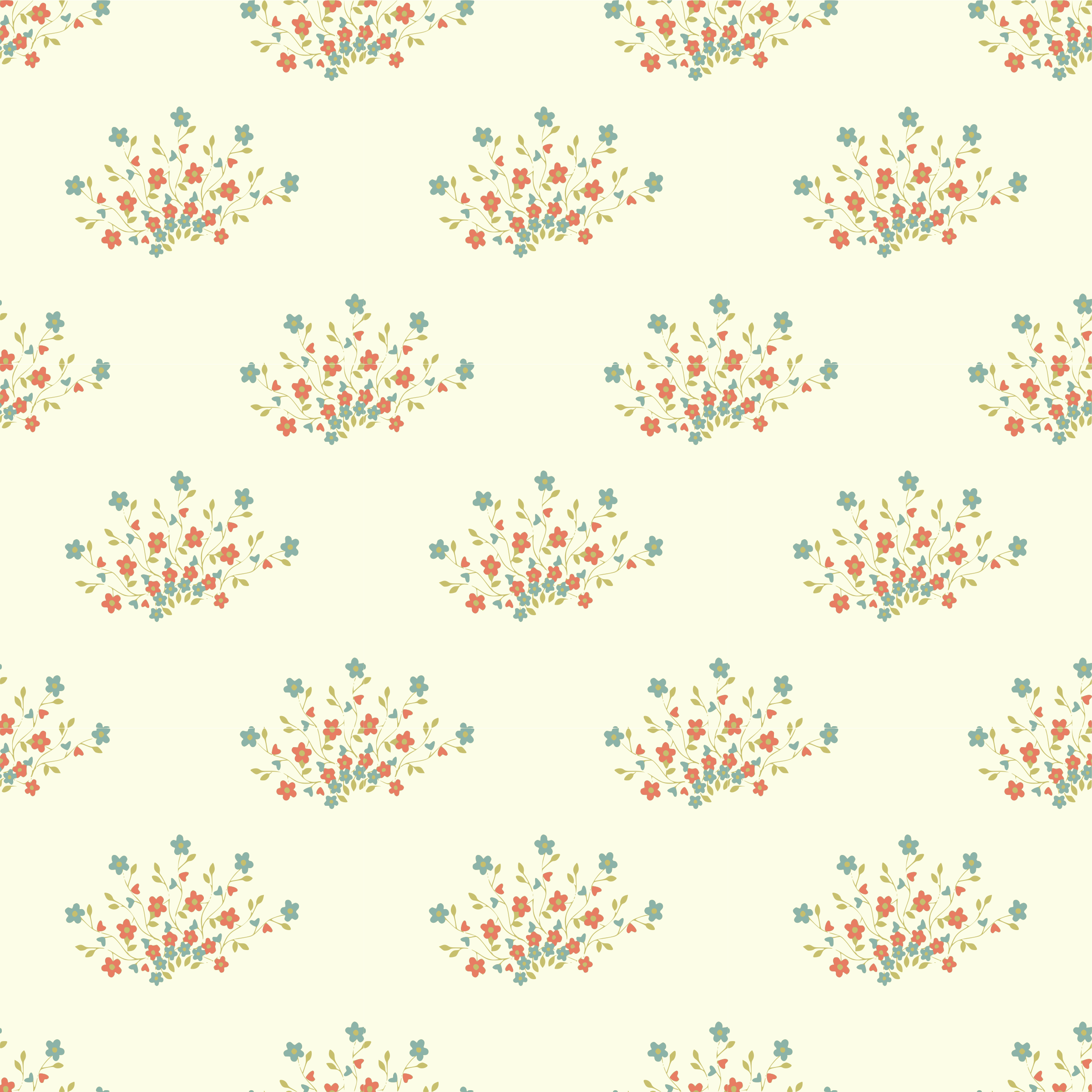 Flower-seamless pattern by yamachem