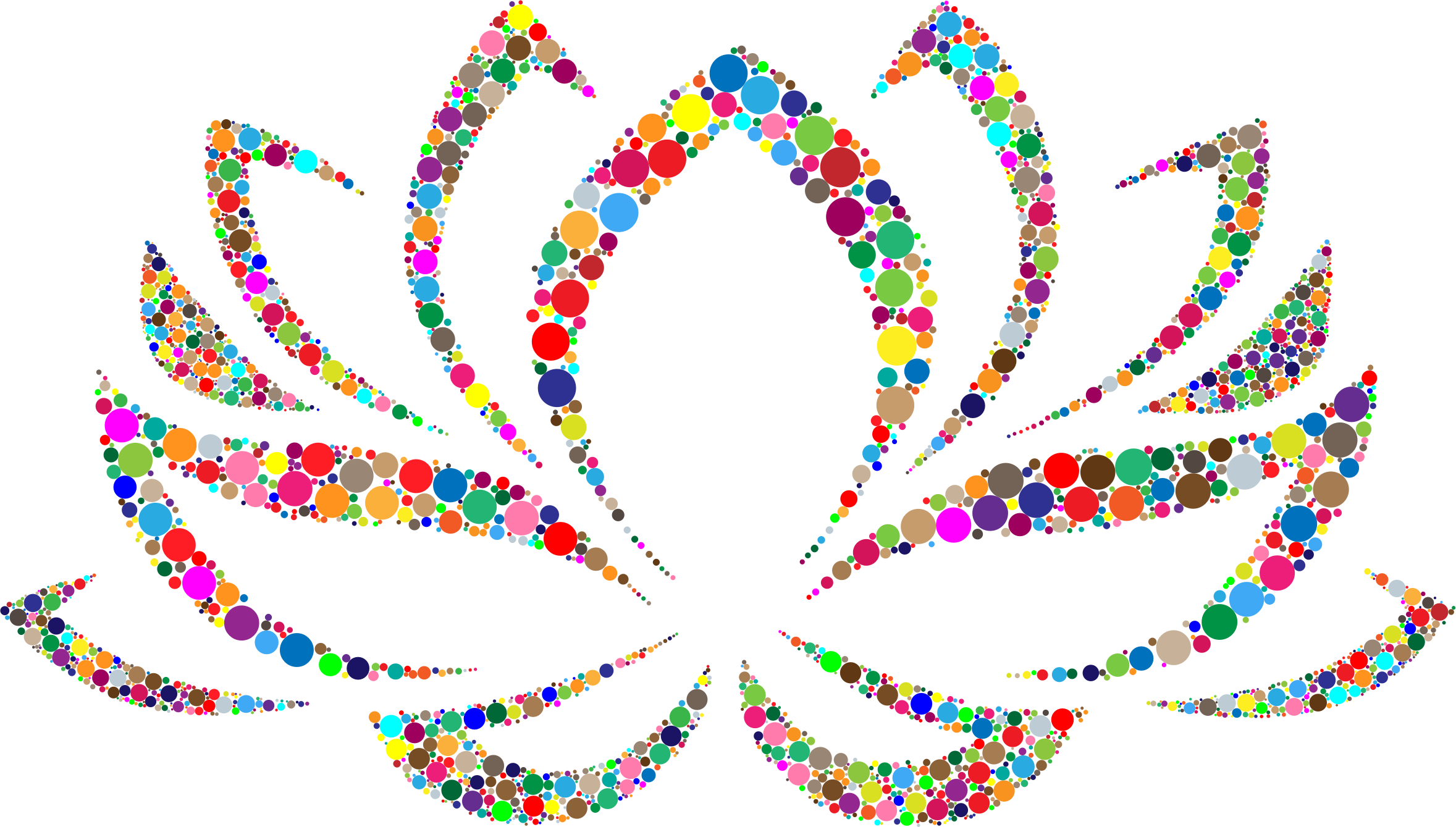 Clipart colorful lotus flower circles big image png mightylinksfo