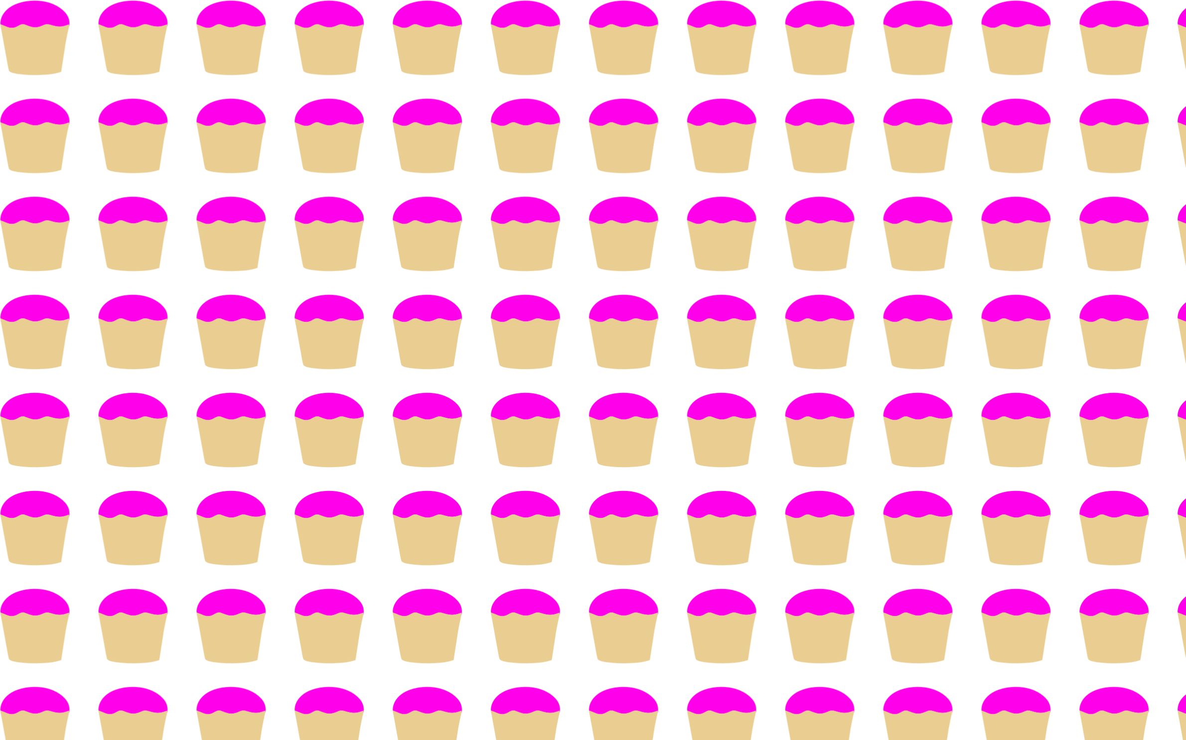 Seamless Cupcakes Pattern by GDJ