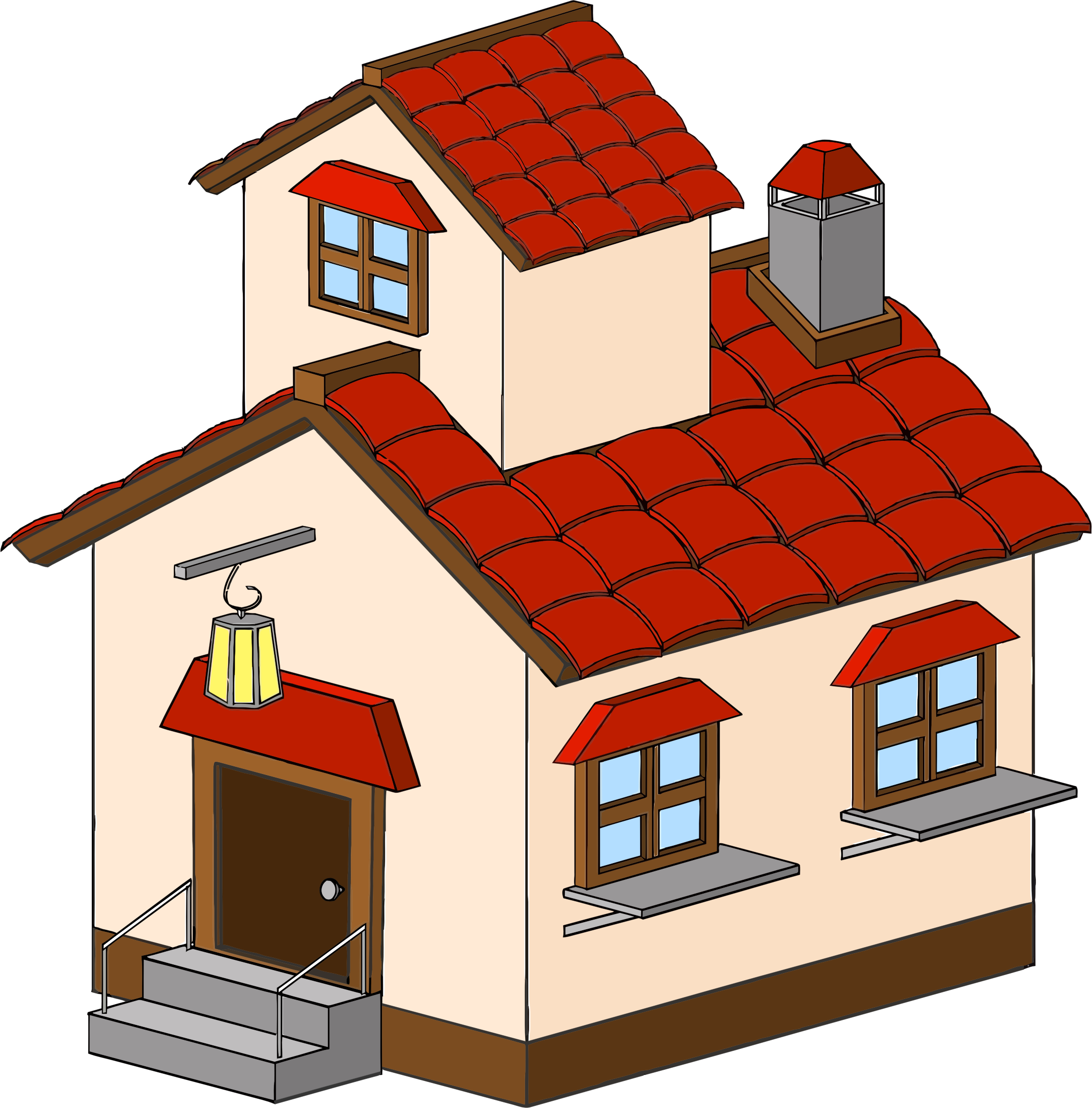 Isometric House by GDJ