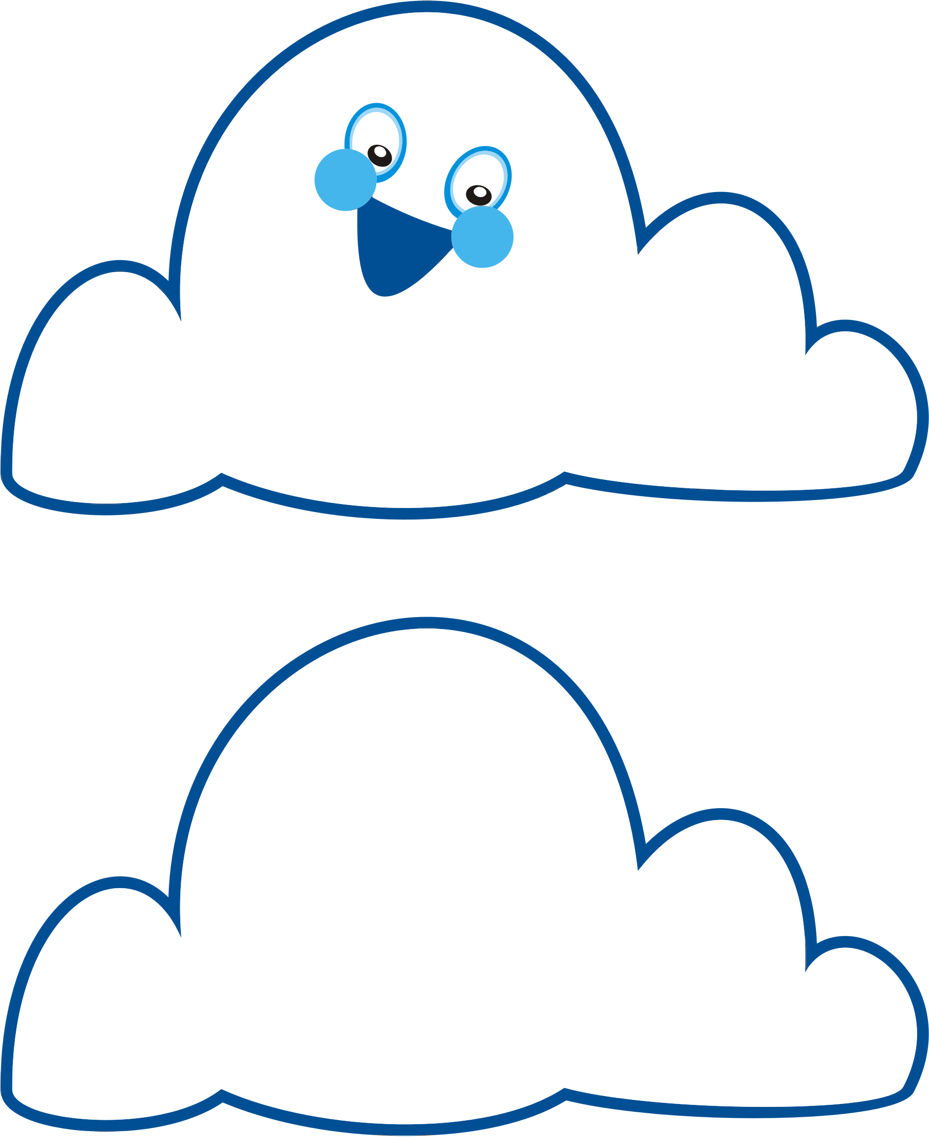 Anthropomorphic Cloud by GDJ