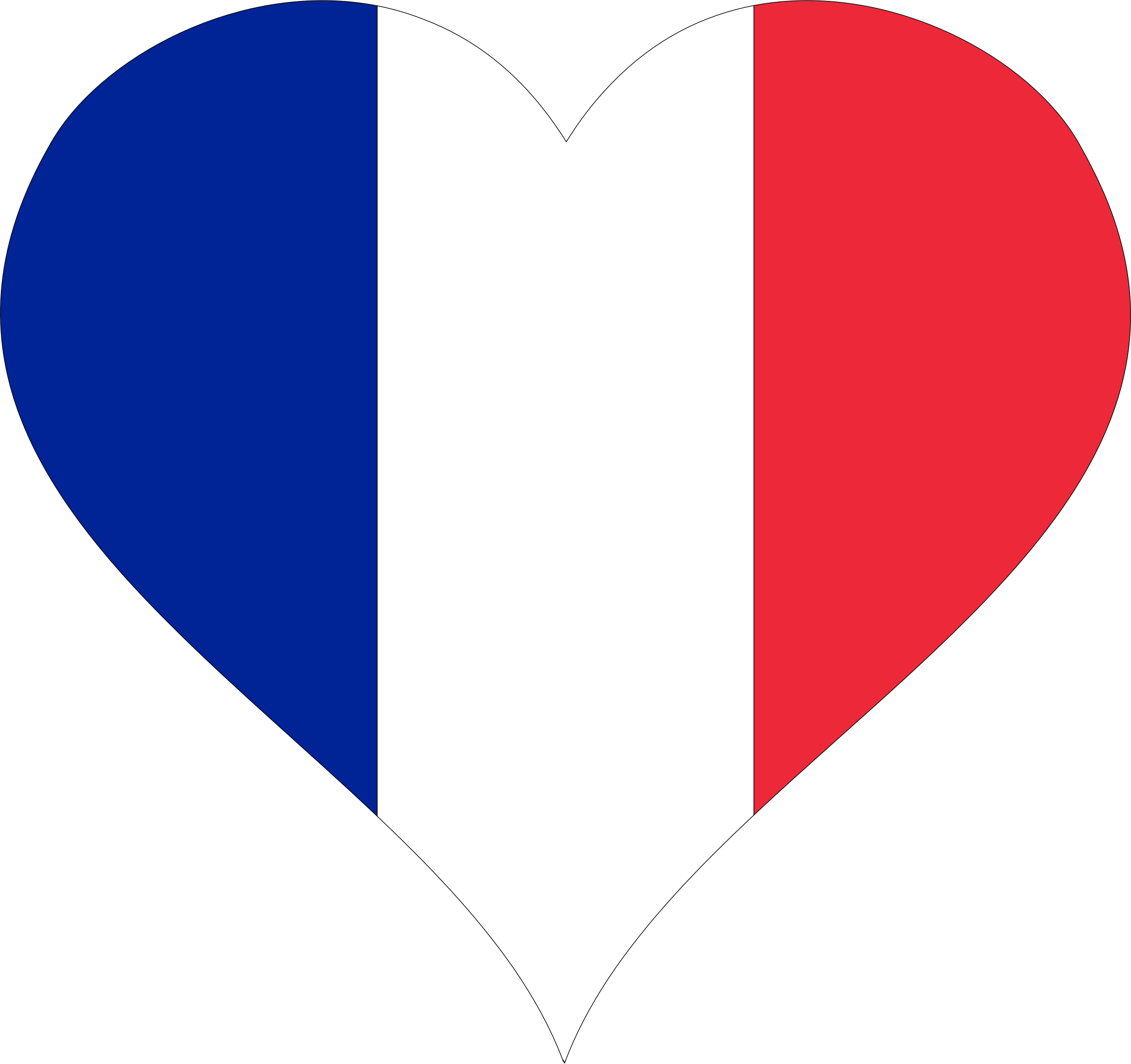 Heart France by GDJ