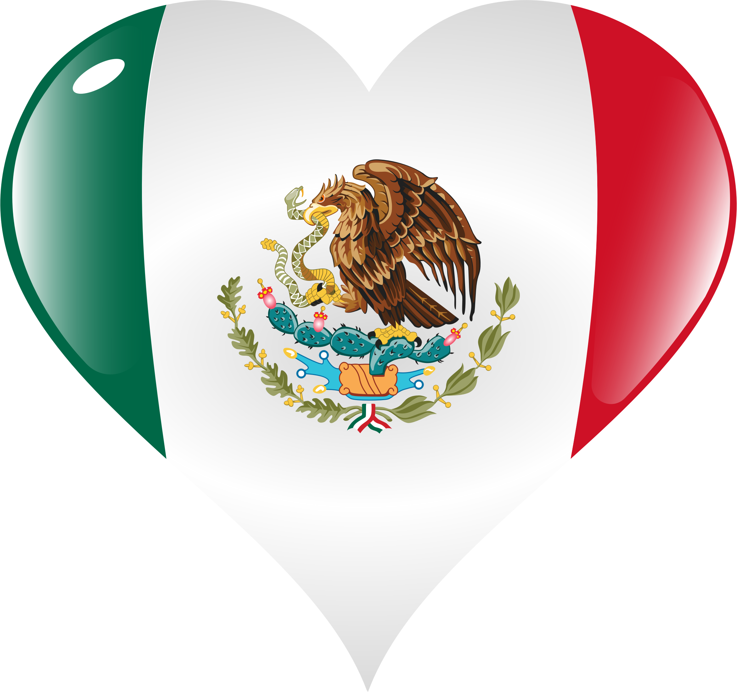 Heart Mexico by GDJ