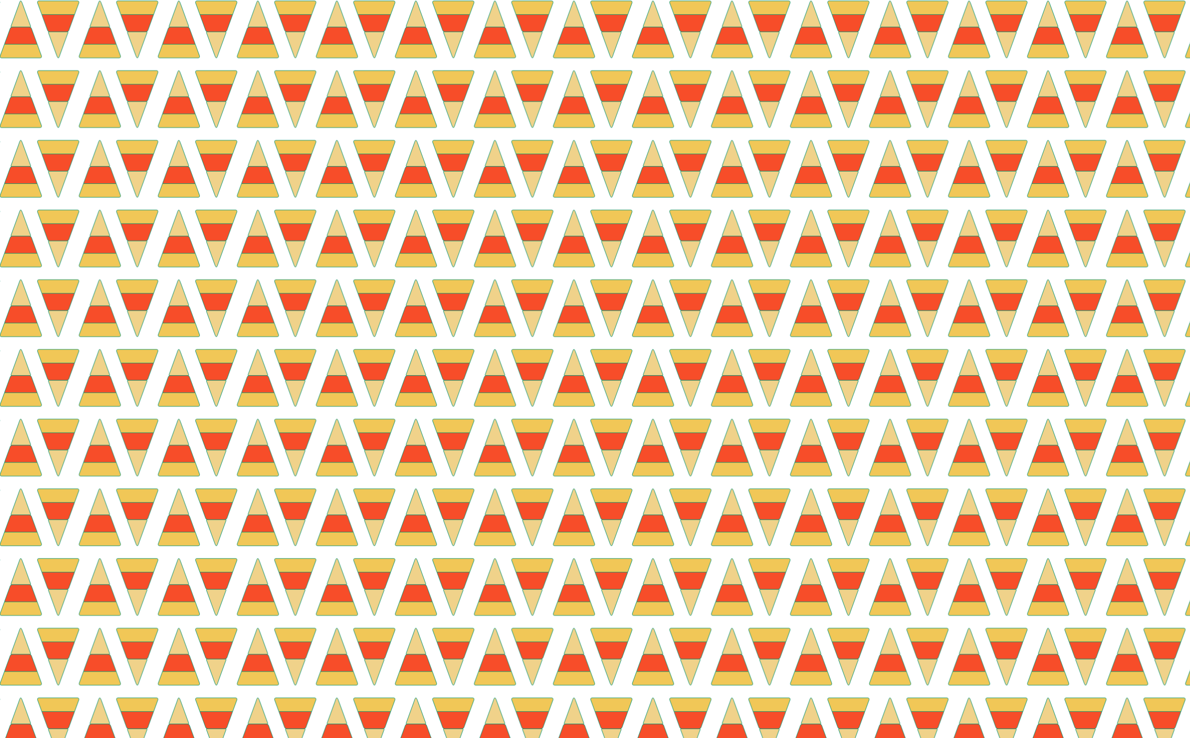 Candy Corn Seamless Pattern by GDJ