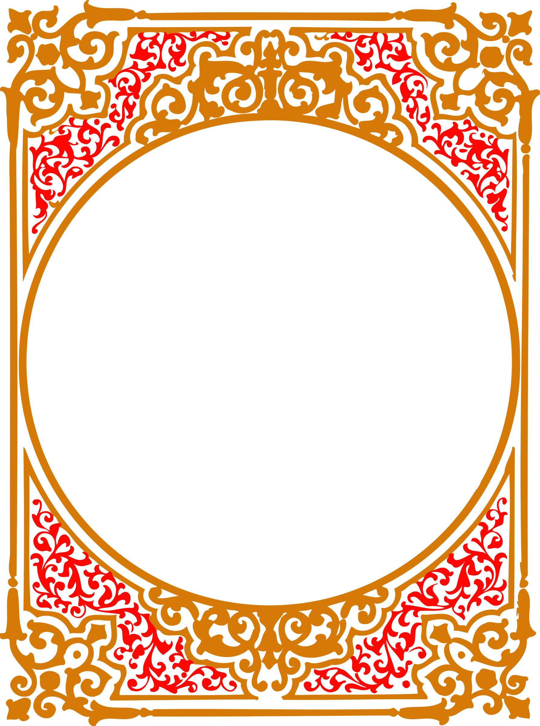 ornate frame 19