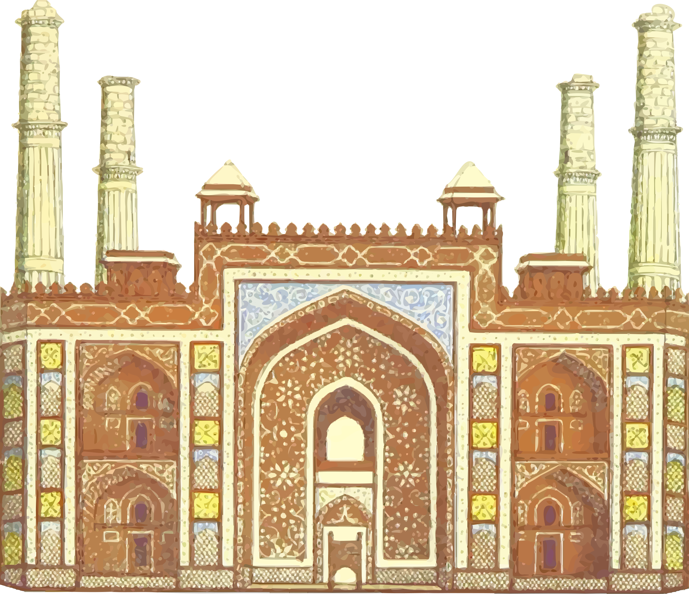 Akbar's tomb by Firkin