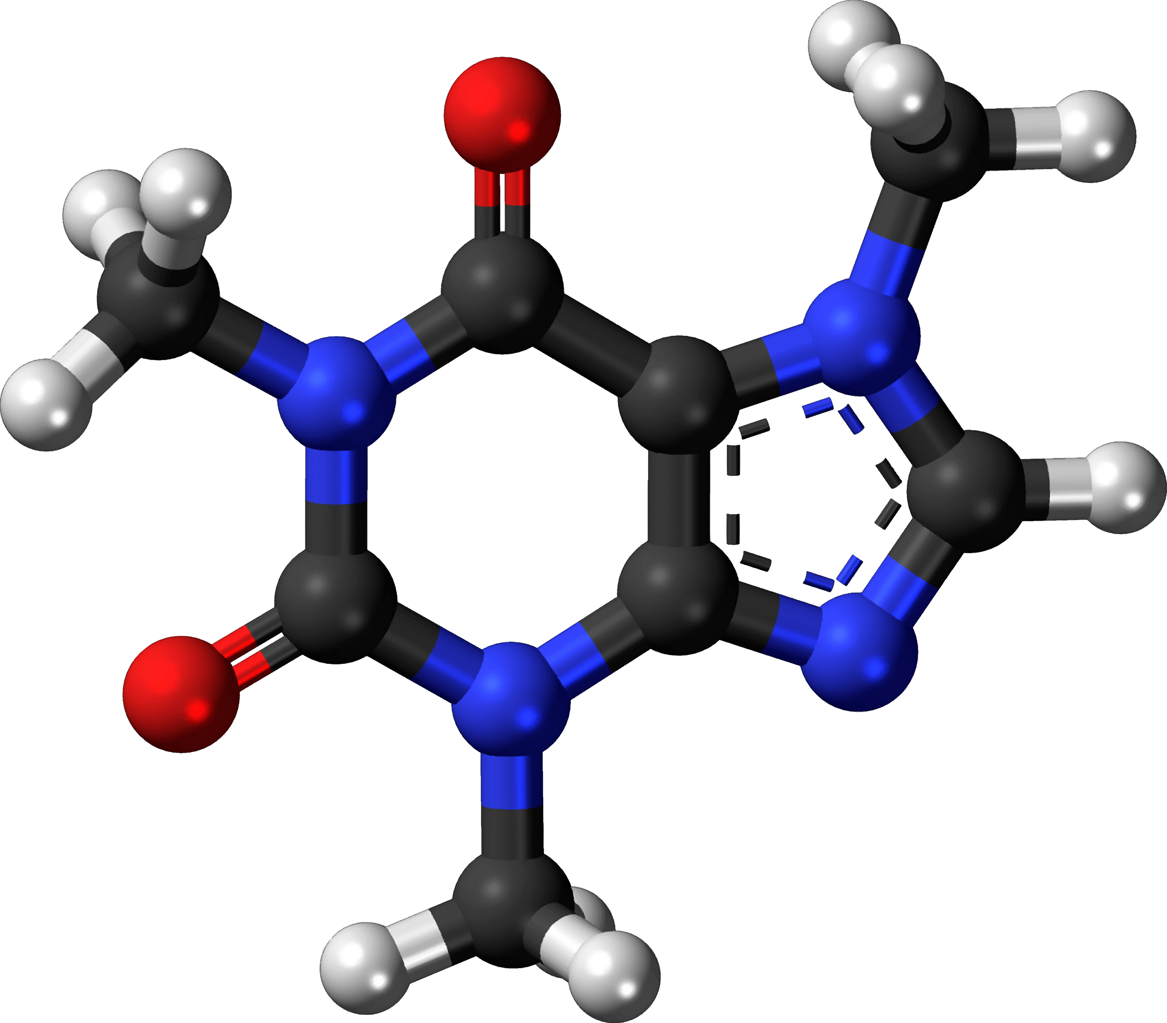 Famous (and infamous) molecules 3 - caffeine by Firkin