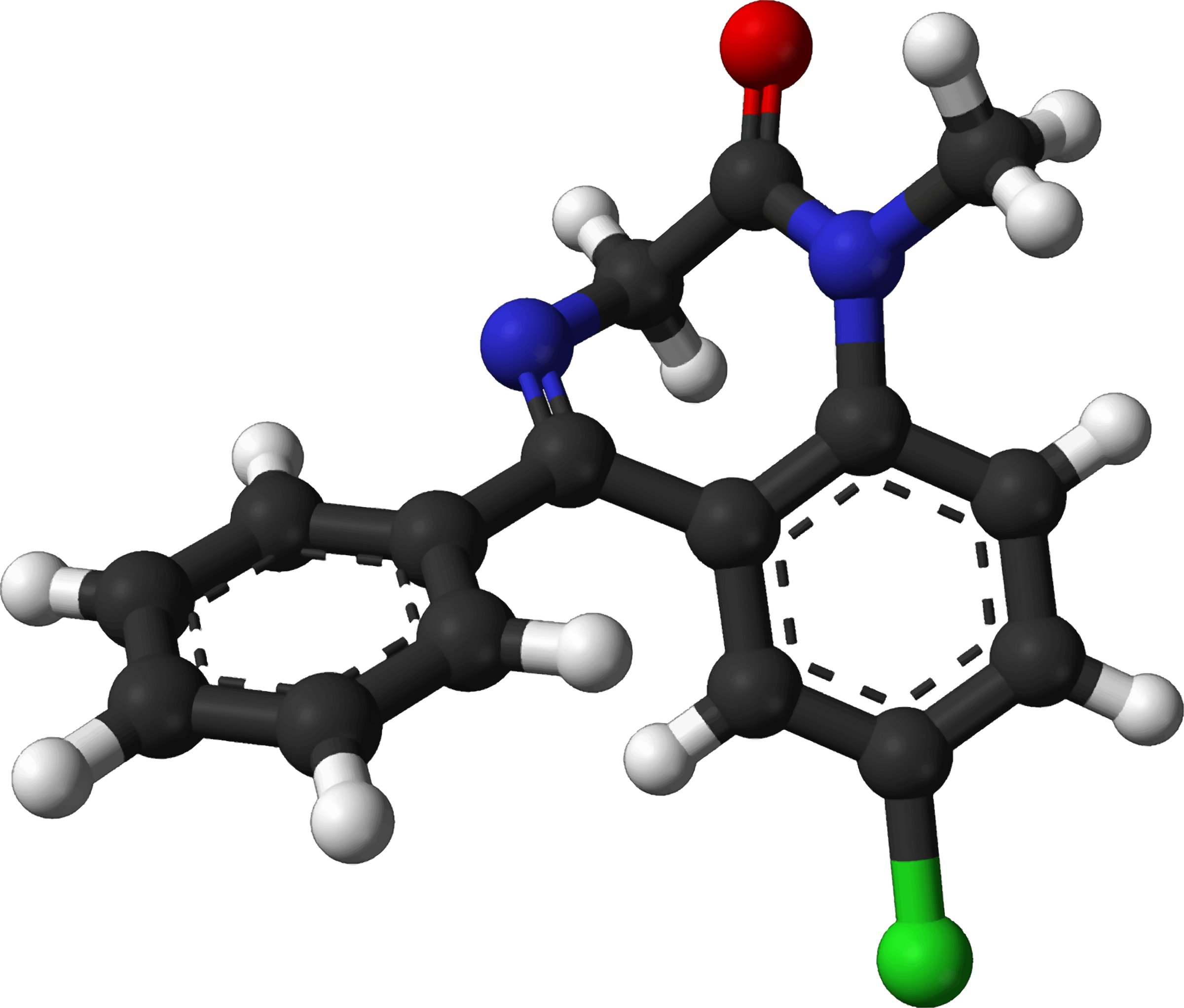 Famous (and infamous) molecules 8 - diazepam by Firkin