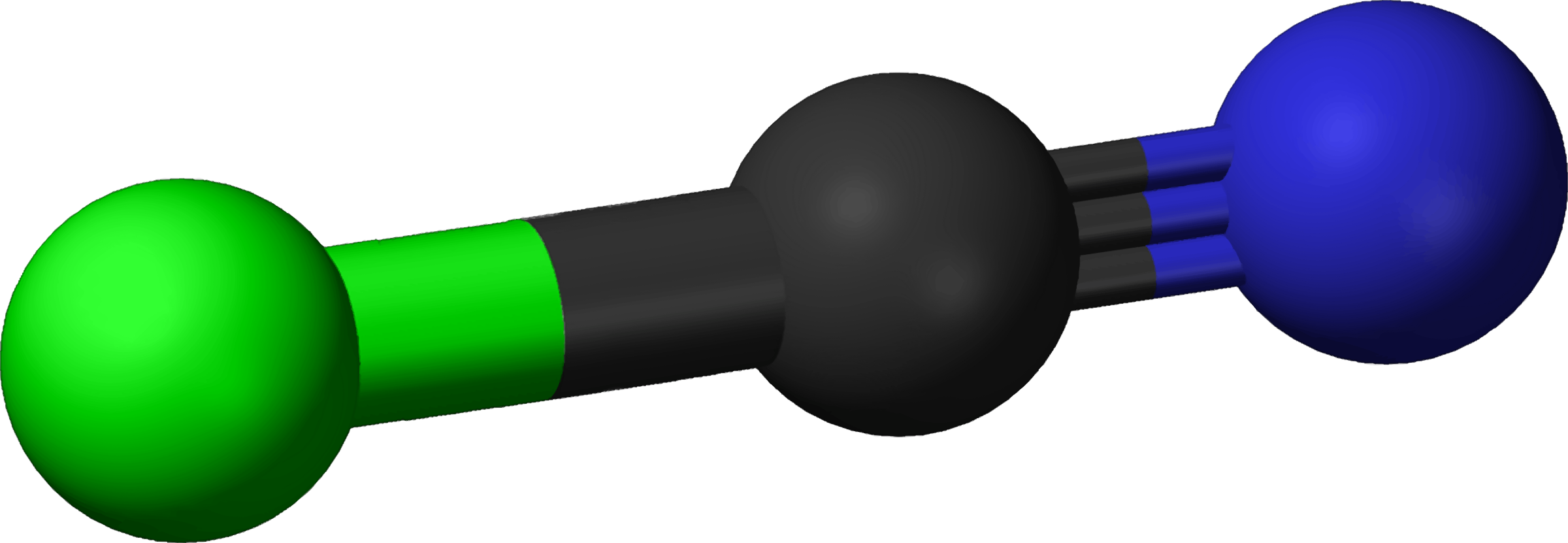 Famous (and infamous) molecules 10 - cyanogen chloride by Firkin