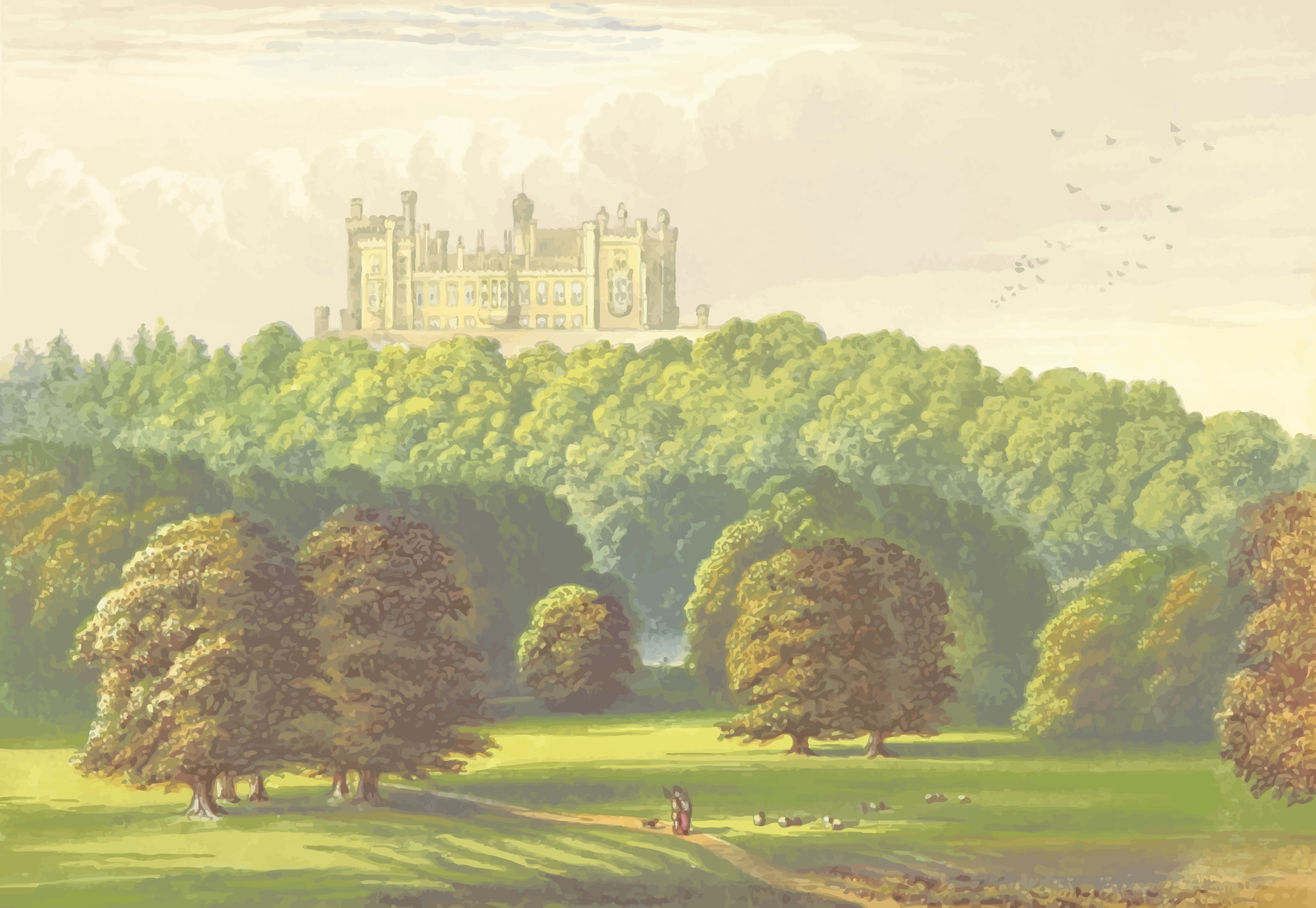 Belvoir Castle by Firkin