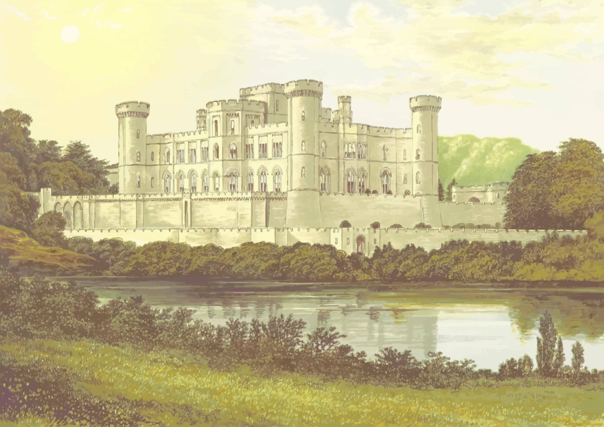 Eastnor Castle by Firkin