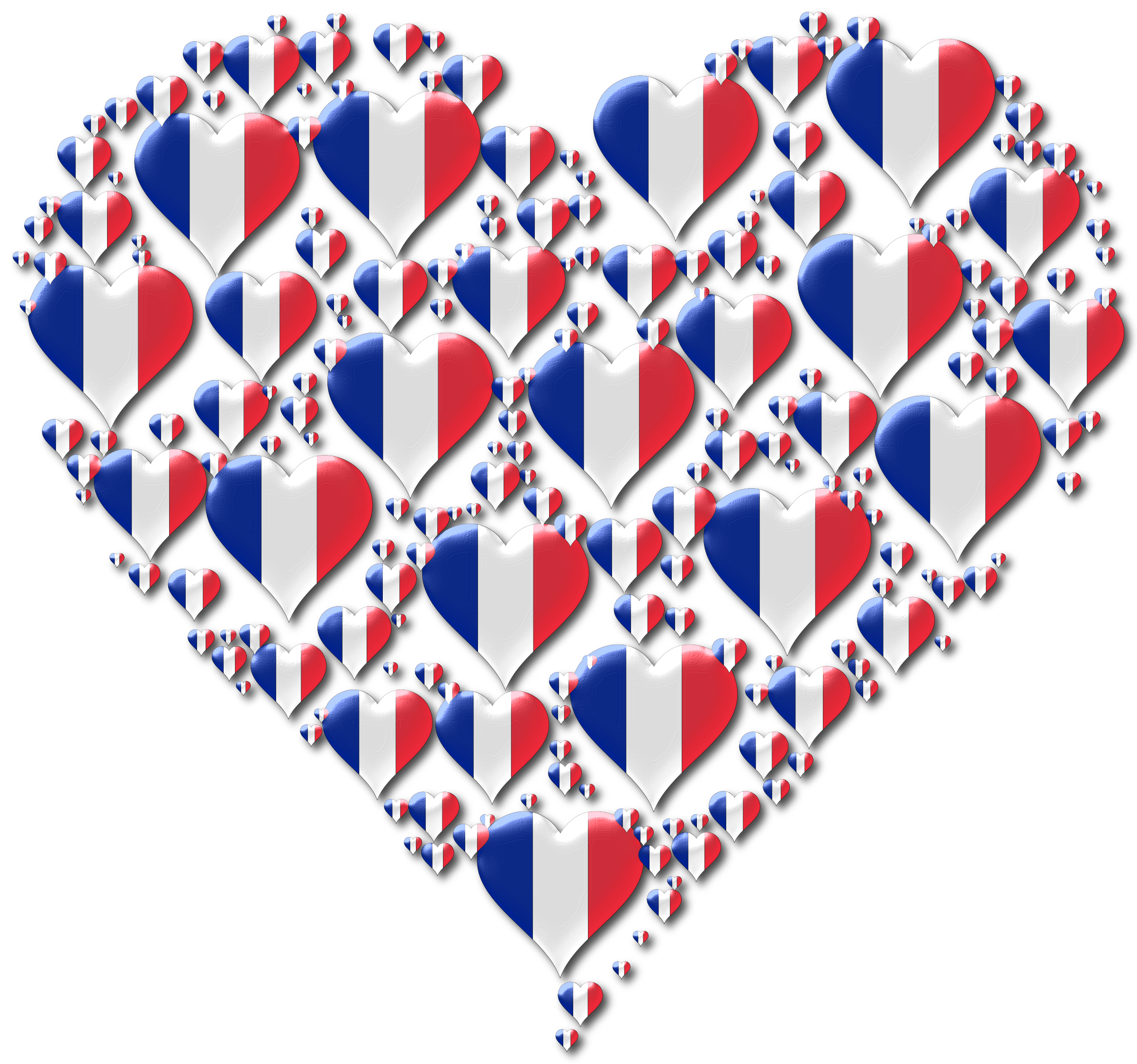 Heart France Fractal Enhanced 2 by GDJ