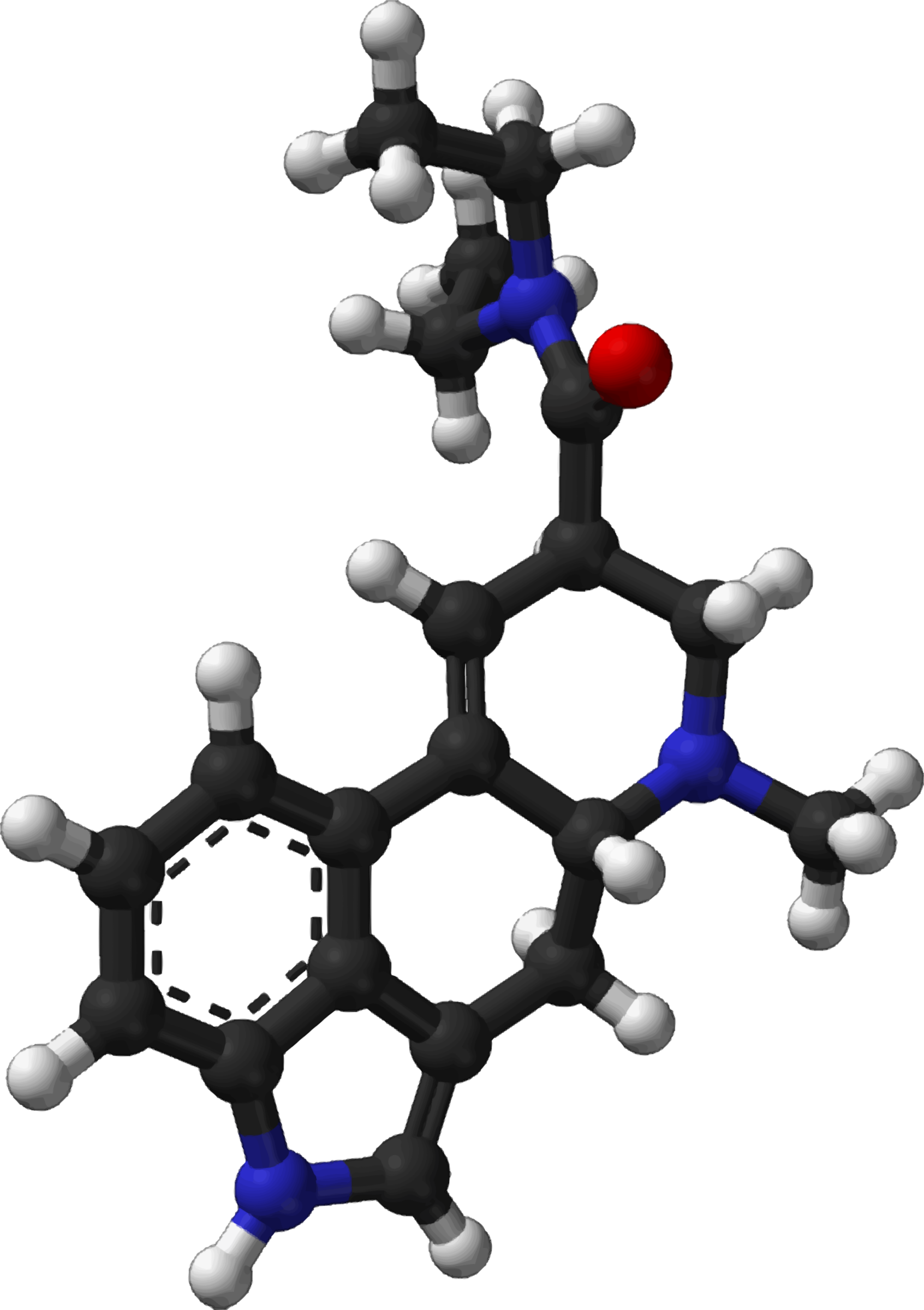Famous (and infamous) molecules 13 - LSD by Firkin