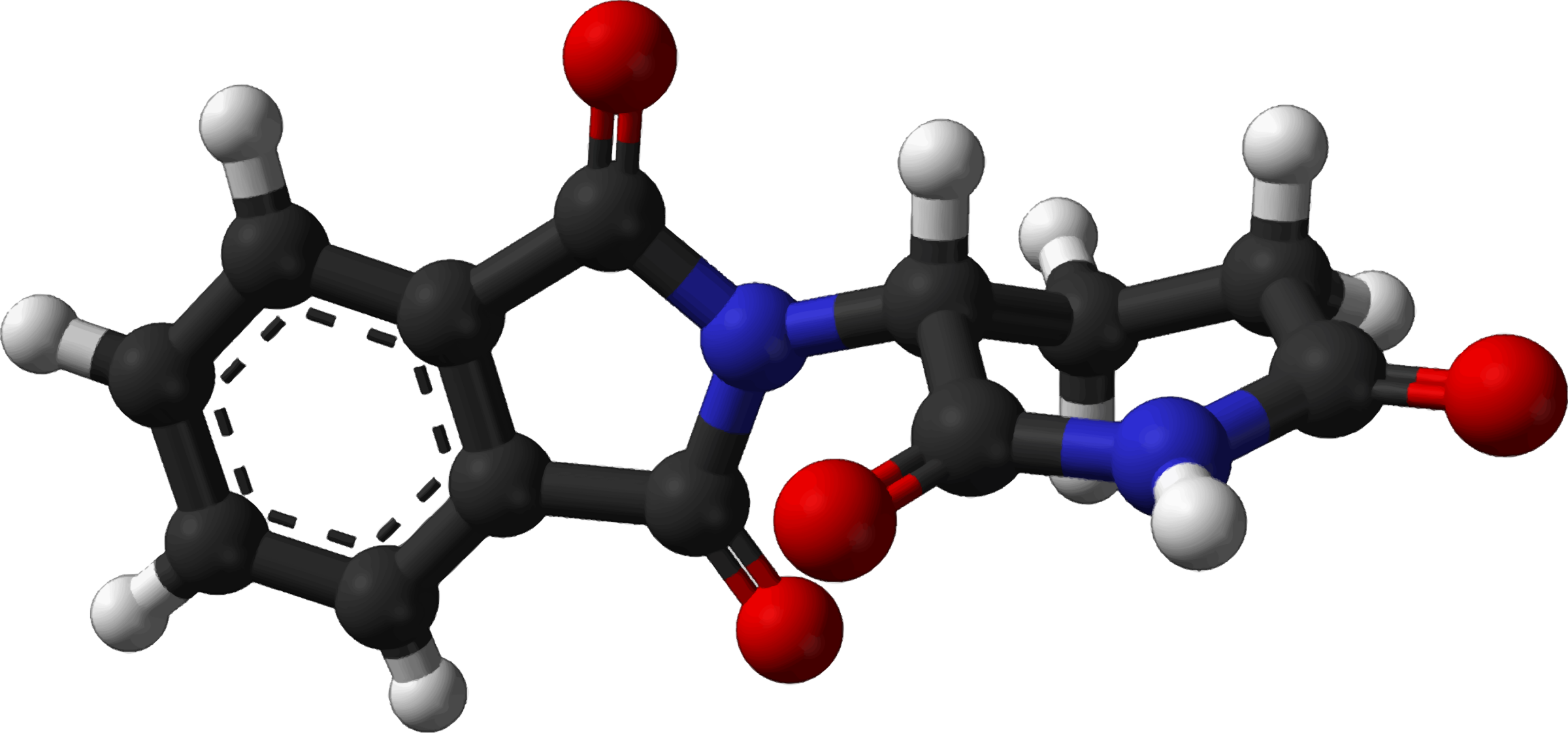 Famous (and infamous) molecules 20 - R-thalidomide by Firkin