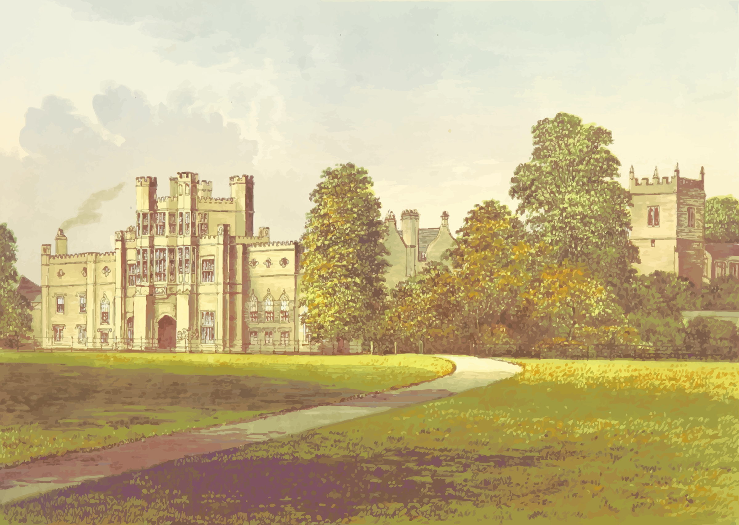 Coughton Court by Firkin
