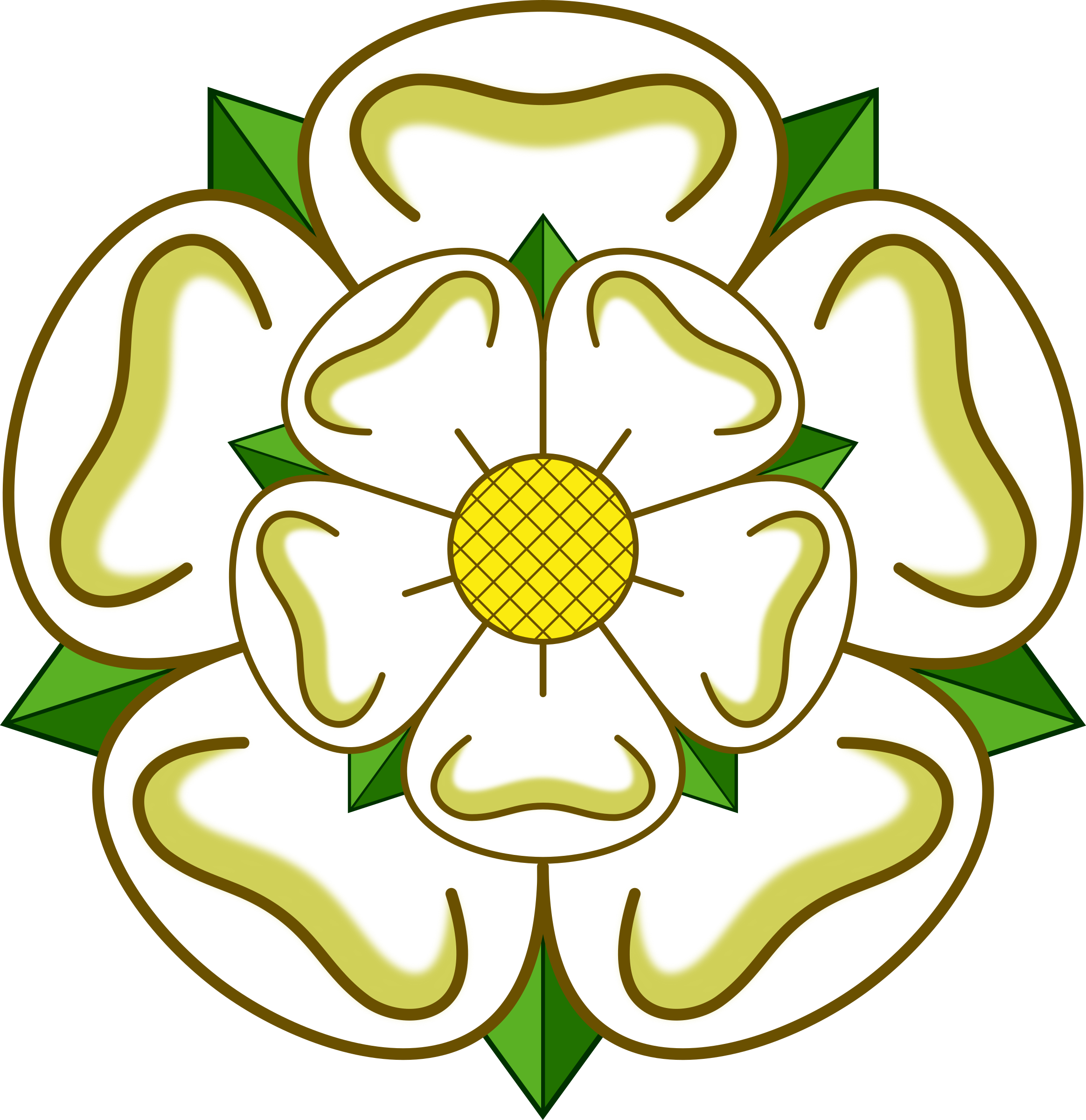 Yorkshire rose by Firkin