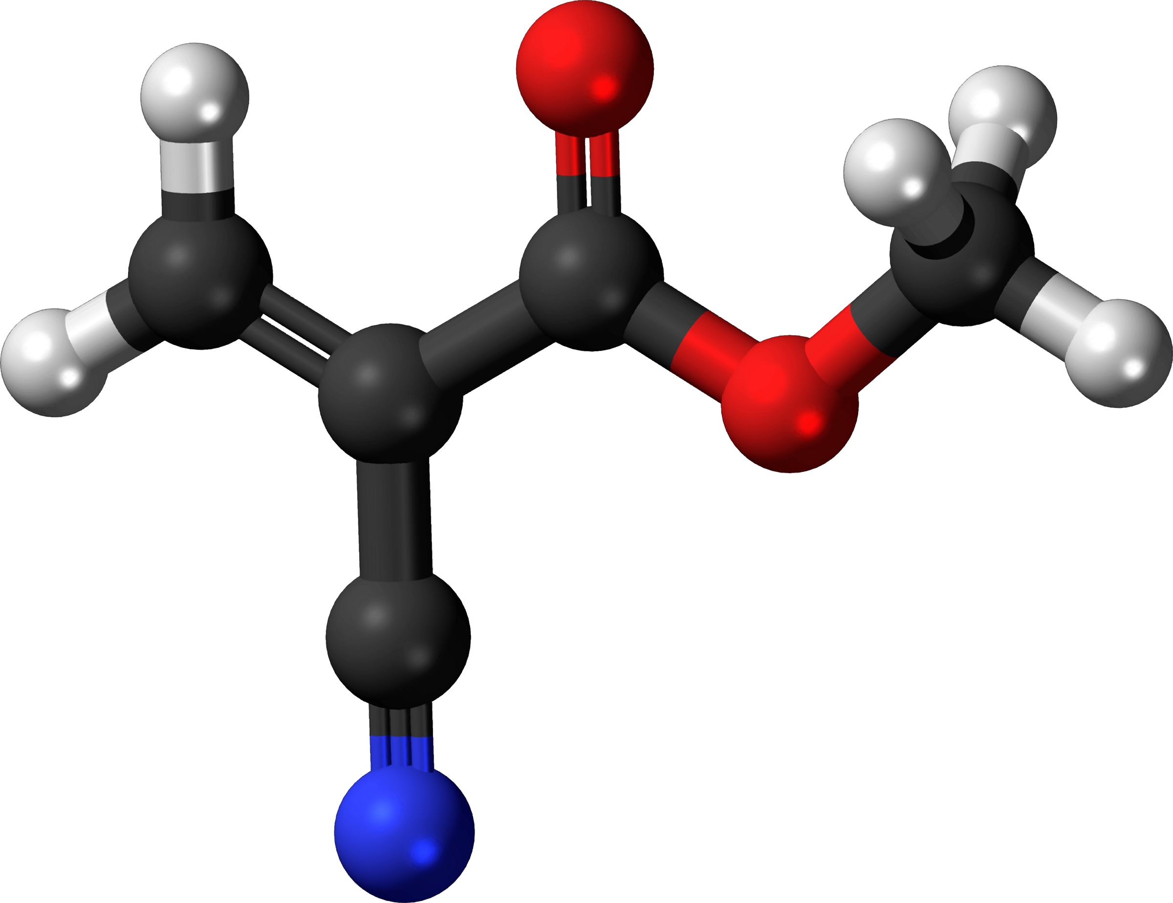 Famous (and infamous) molecules 30 - superglue by Firkin