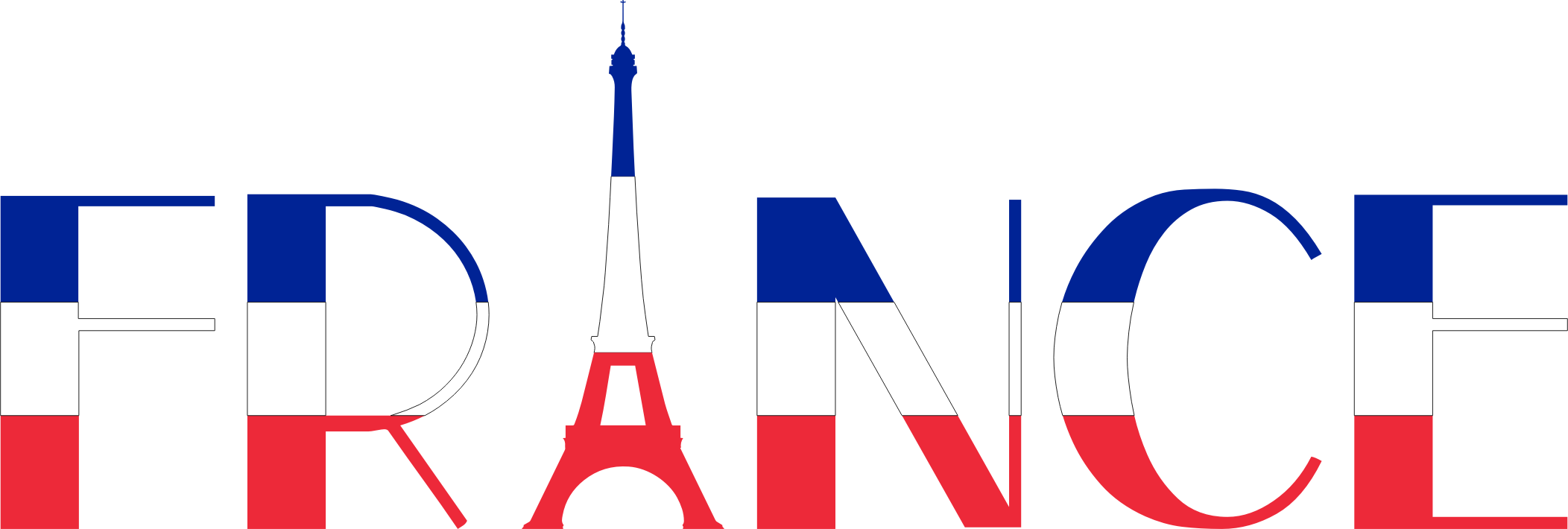 France Typography by GDJ